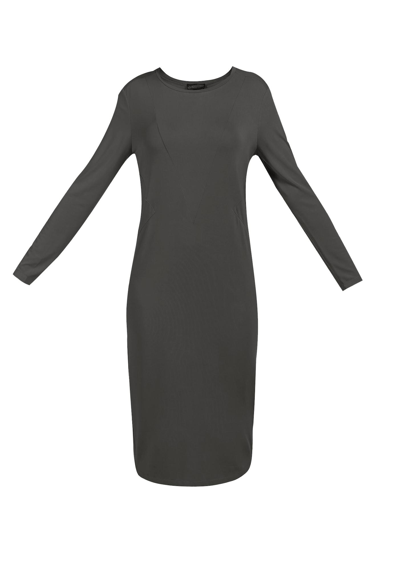 DreiMaster Vintage Suknelė tamsiai pilka