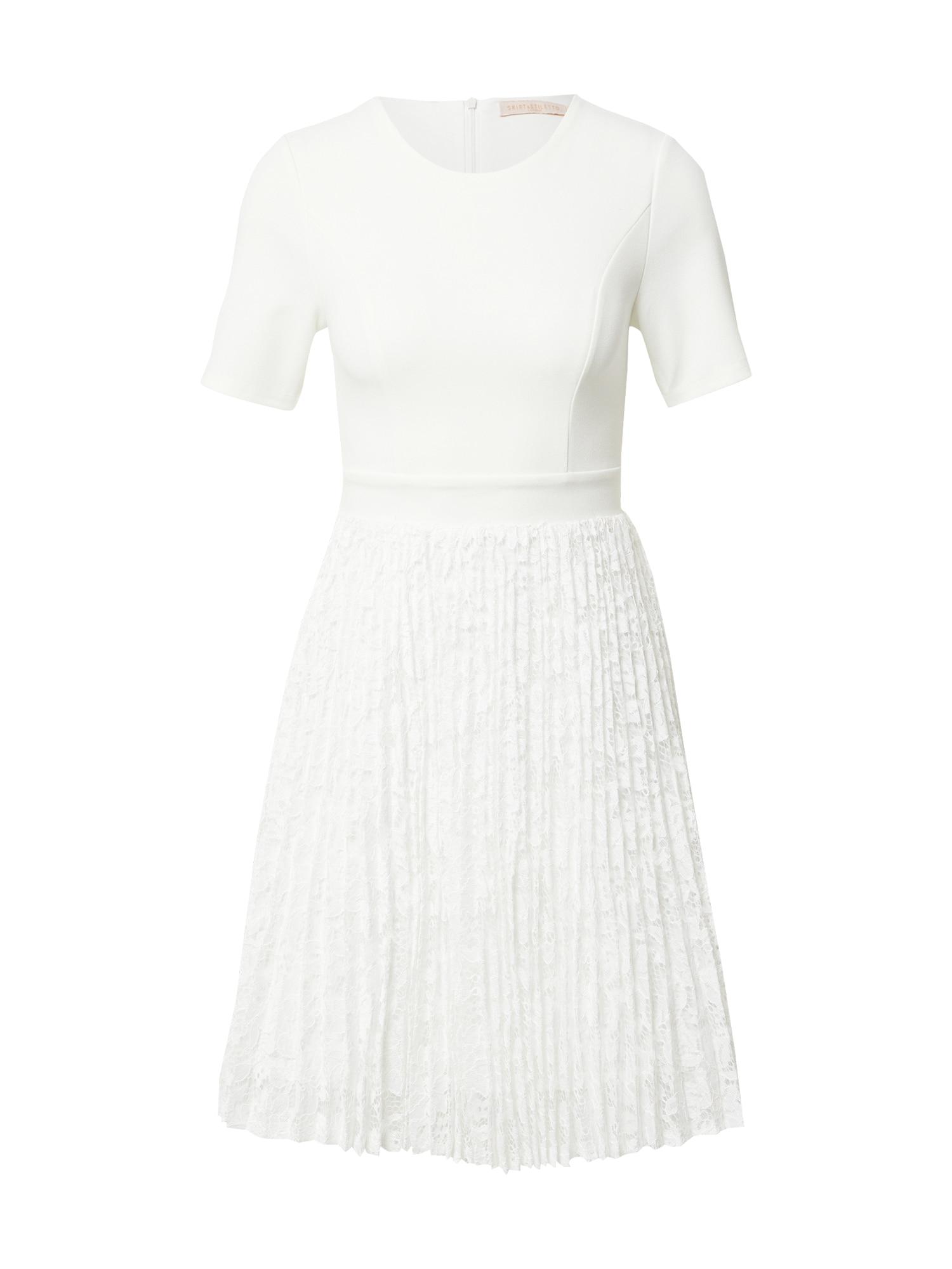 Skirt & Stiletto Kokteilinė suknelė balta