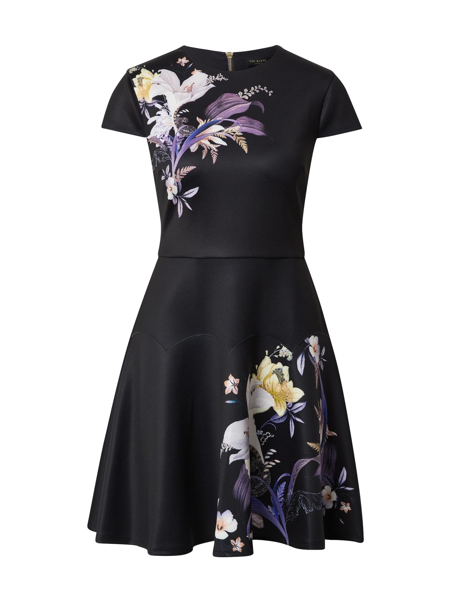 Ted Baker Kokteilinė suknelė mišrios spalvos / juoda