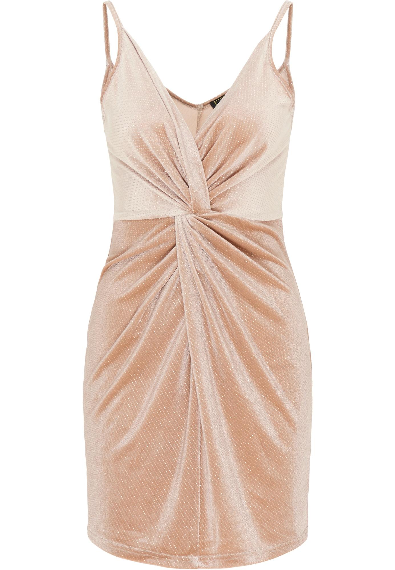 faina Kokteilinė suknelė šampano
