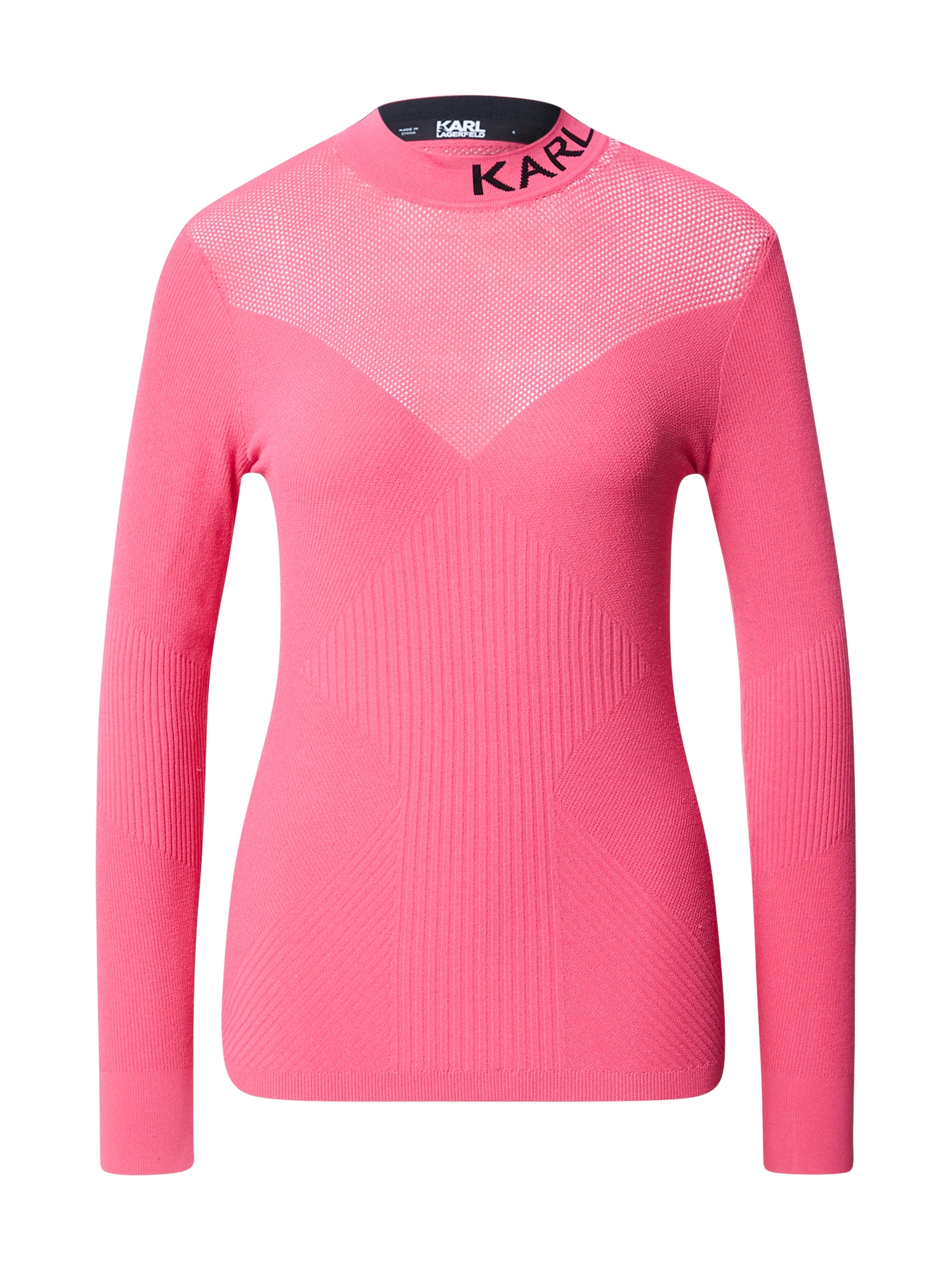 Karl Lagerfeld Megztinis rožinė