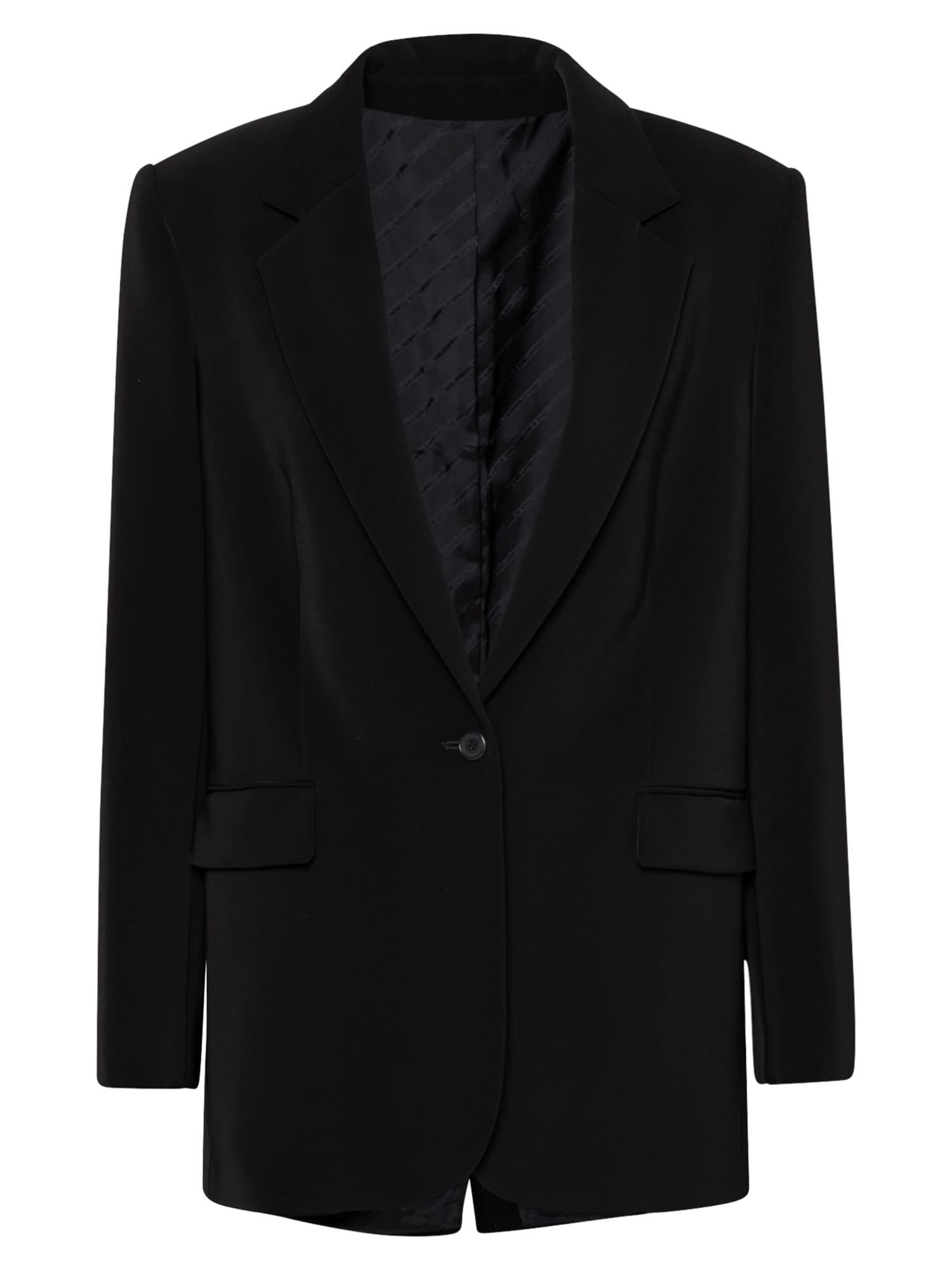 Karl Lagerfeld Švarkas juoda / balta