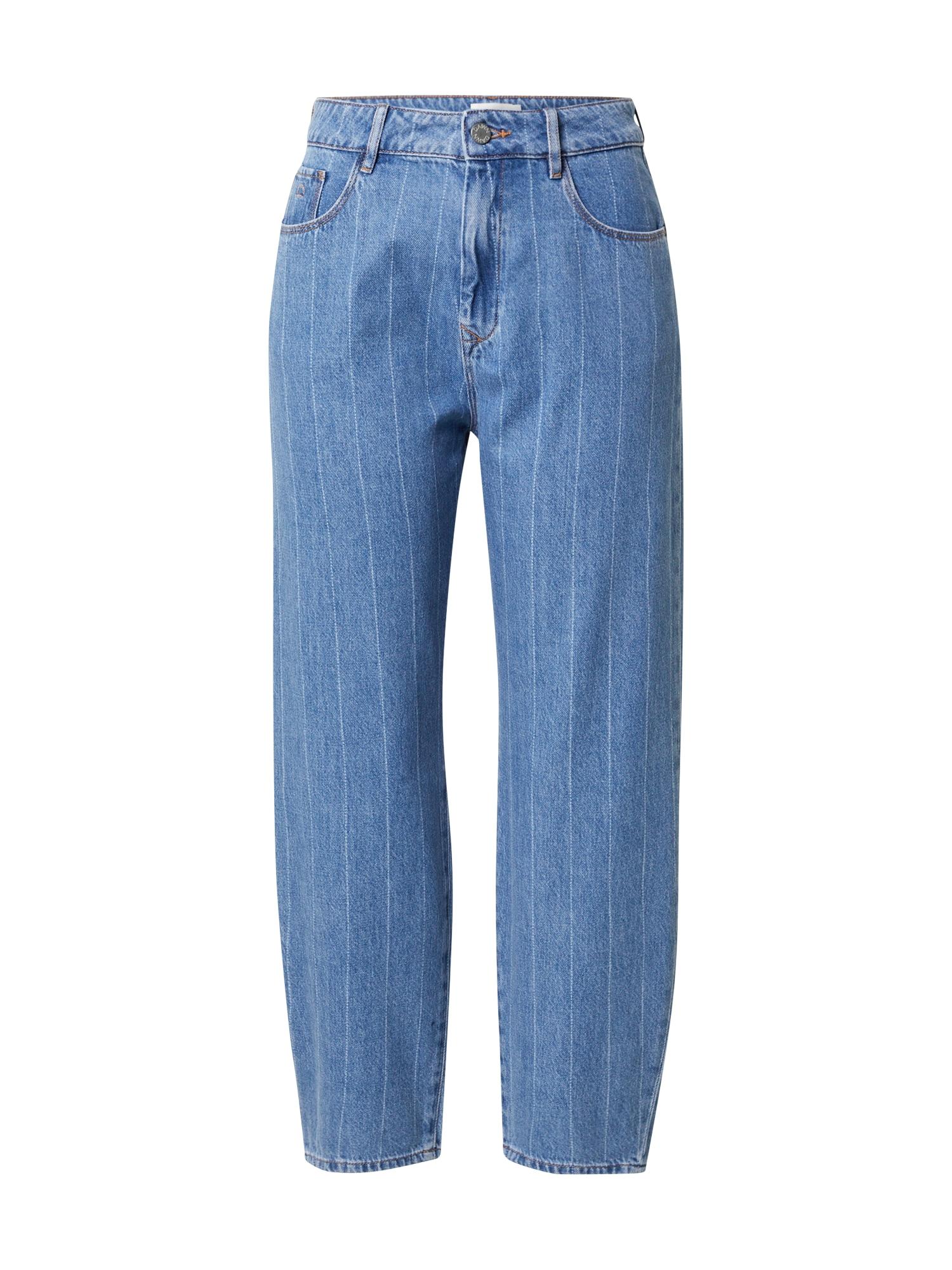 Dawn Džinsai tamsiai (džinso) mėlyna / balta