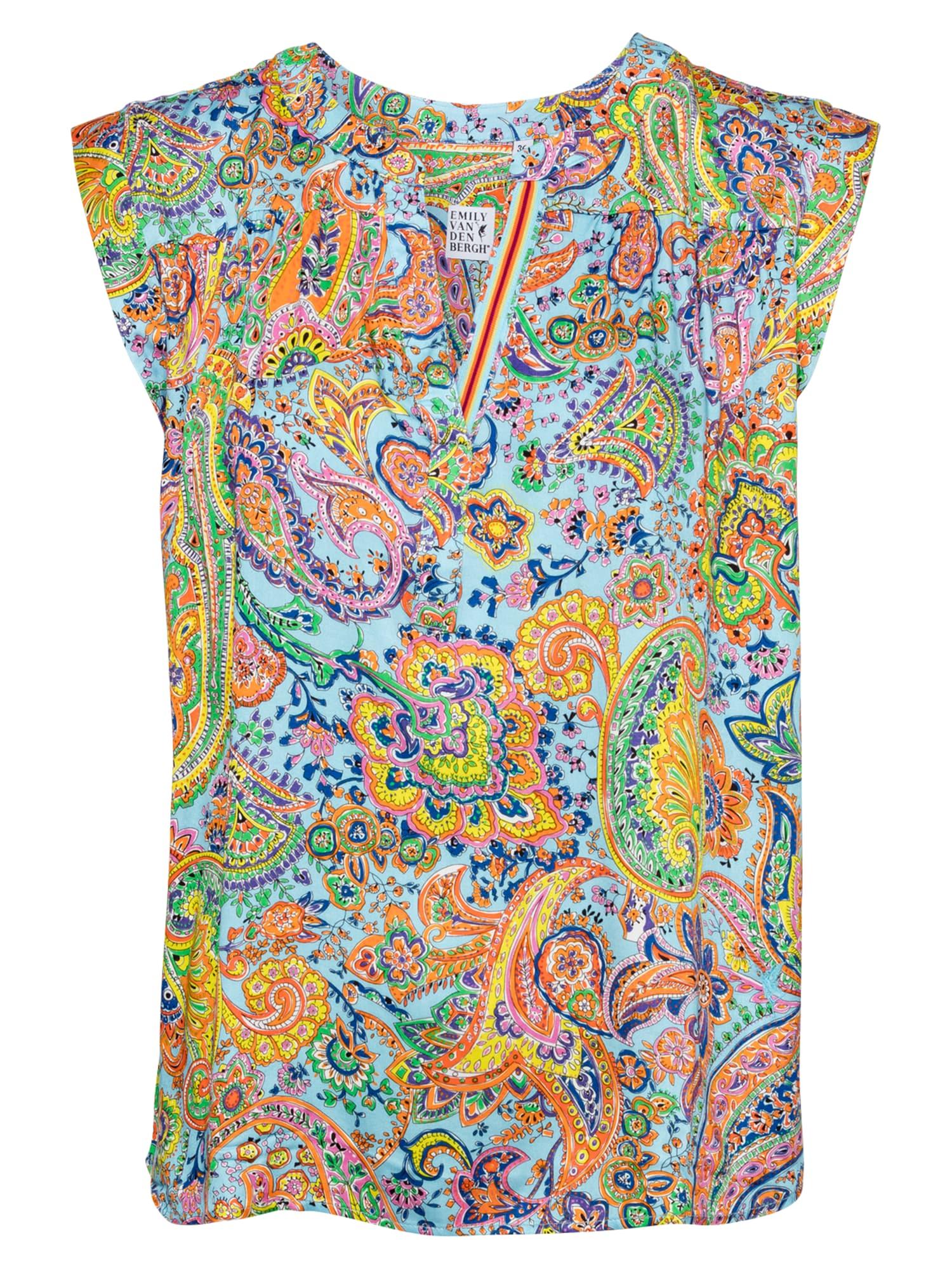 Emily Van Den Bergh Palaidinė mišrios spalvos