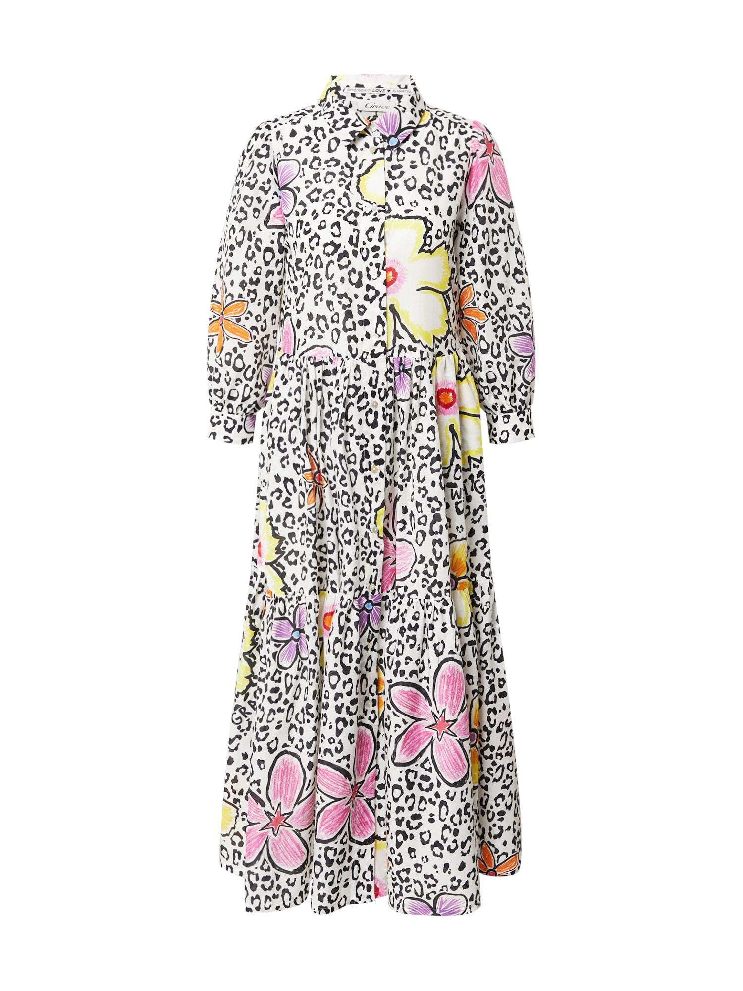 Grace Palaidinės tipo suknelė balta / mišrios spalvos