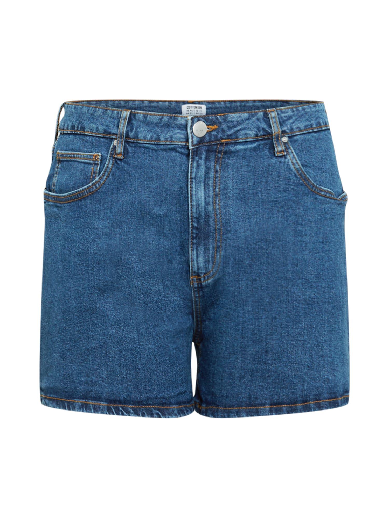 Cotton On Curve Džinsai tamsiai (džinso) mėlyna