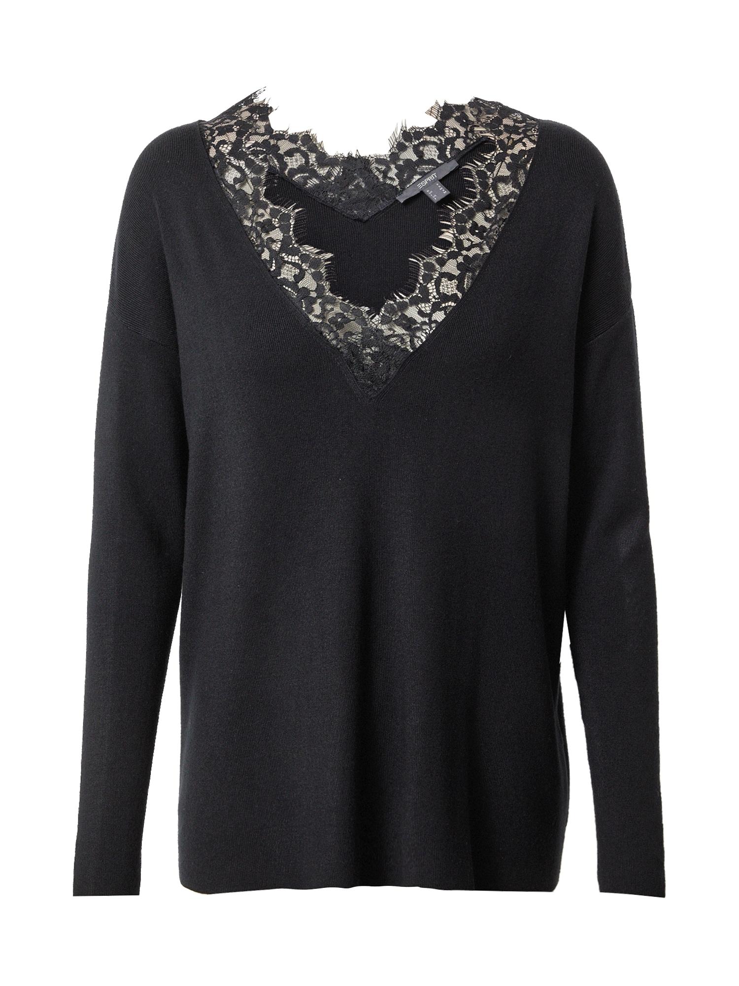 Esprit Collection Megztinis juoda