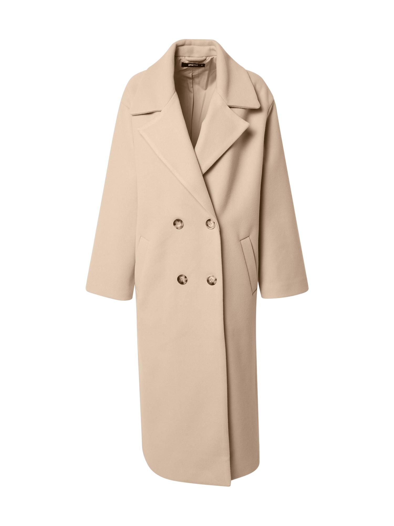 Gina Tricot Demisezoninis paltas šviesiai ruda