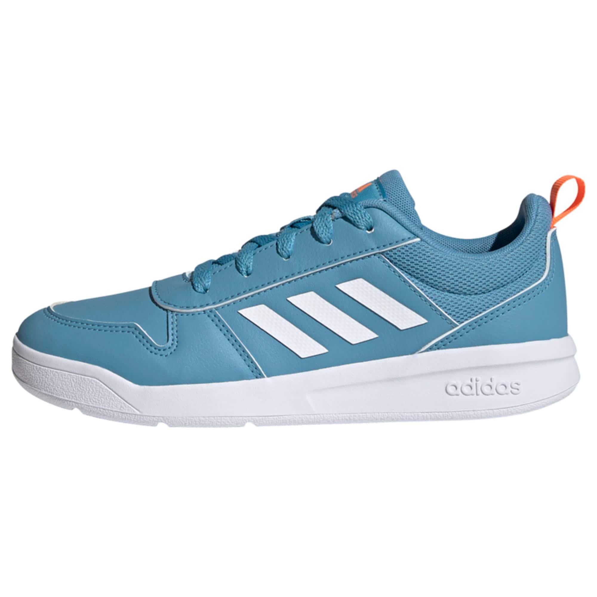 ADIDAS PERFORMANCE Sportiniai batai 'Tensaur' balta / oranžinė / mėlyna dūmų spalva
