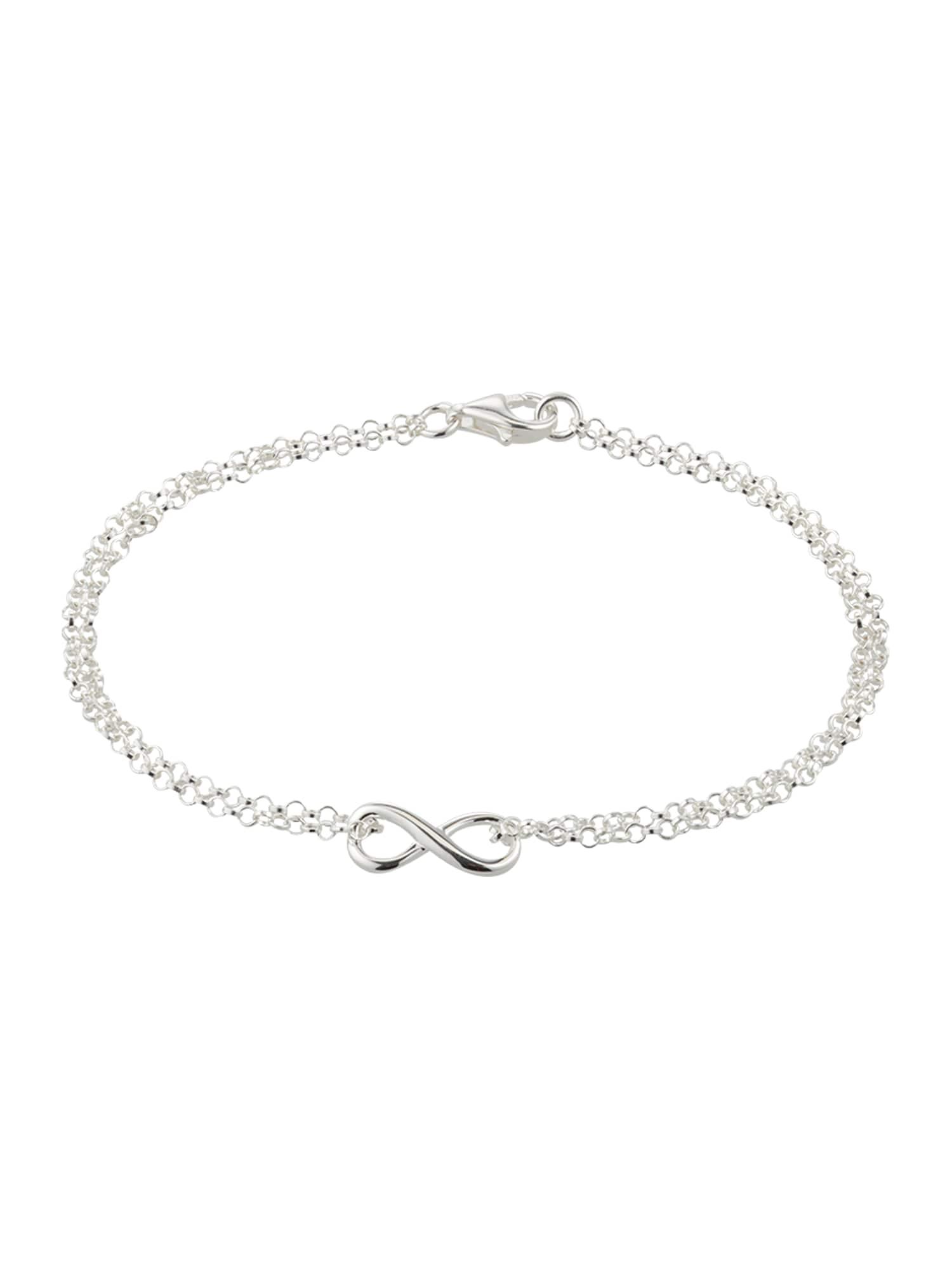 ELLI Náramek 'Infinity'  stříbrná