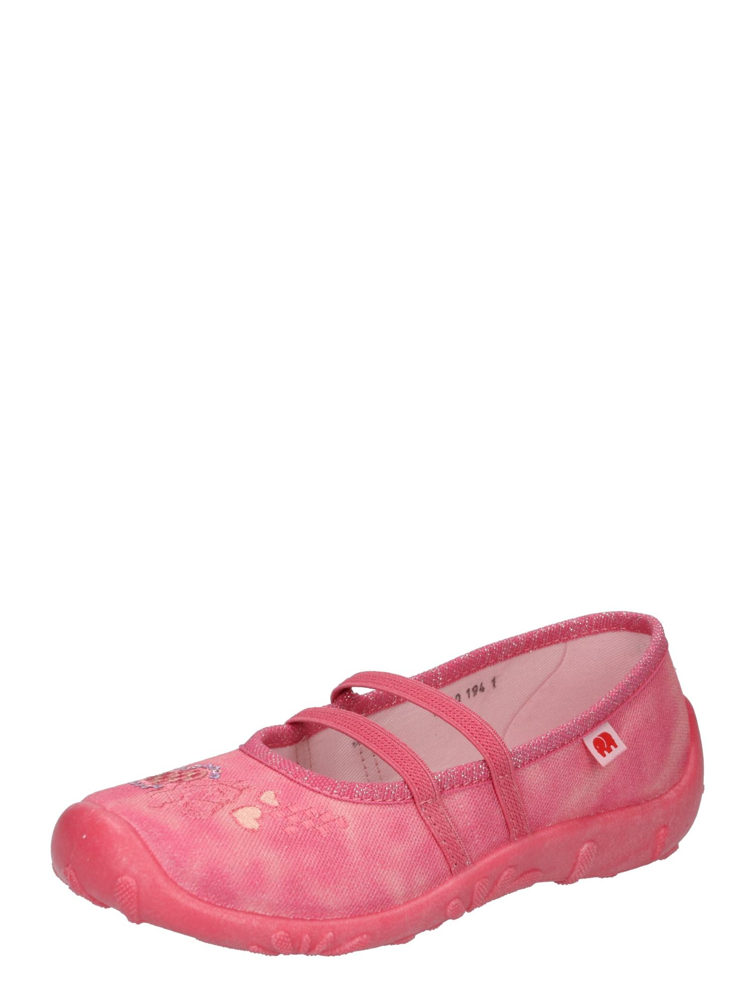 ELEFANTEN Balerinos 'Pamela' ryškiai rožinė spalva / smėlio / melsvai pilka