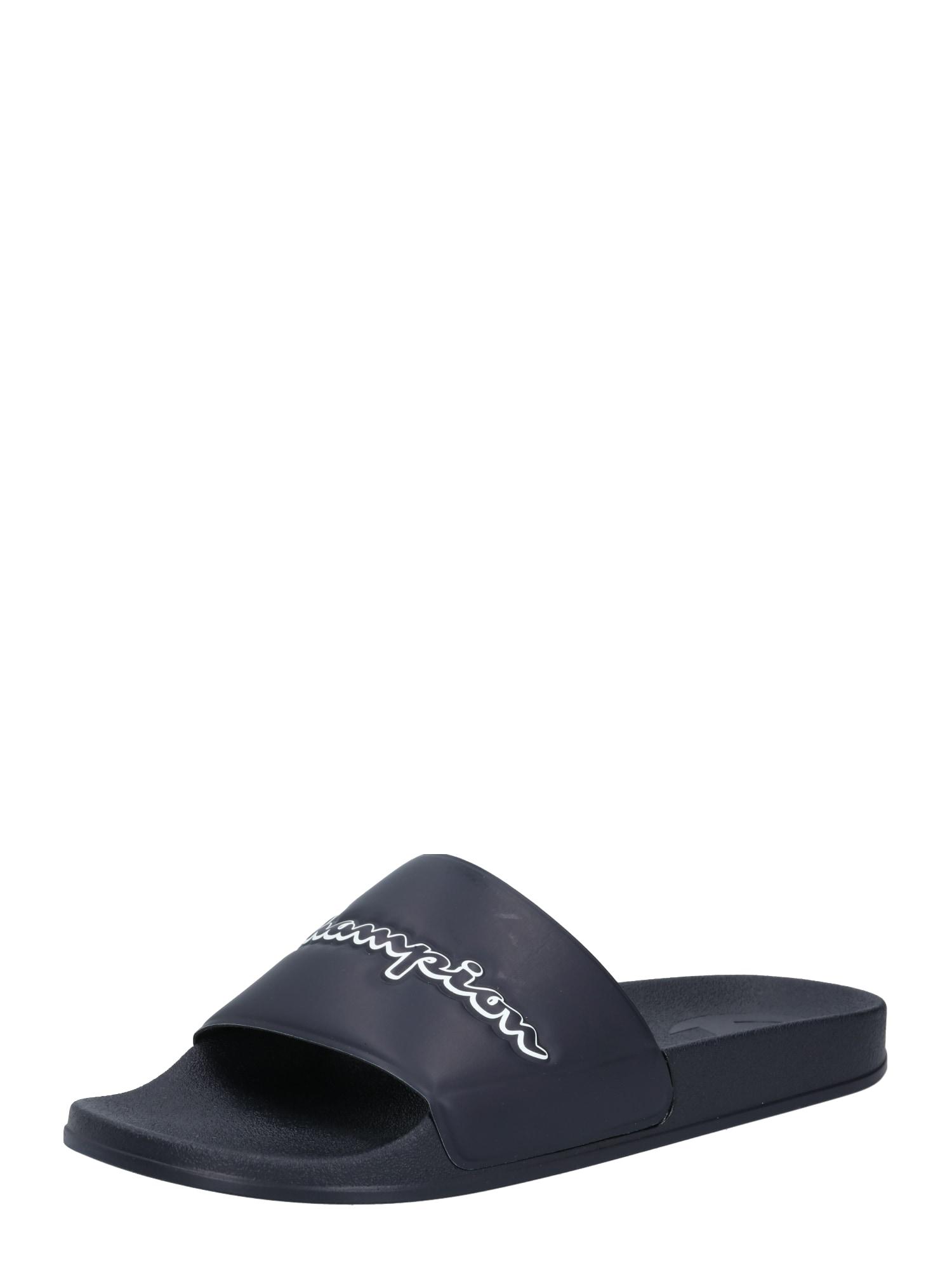 Champion Authentic Athletic Apparel Sandalai / maudymosi batai tamsiai mėlyna