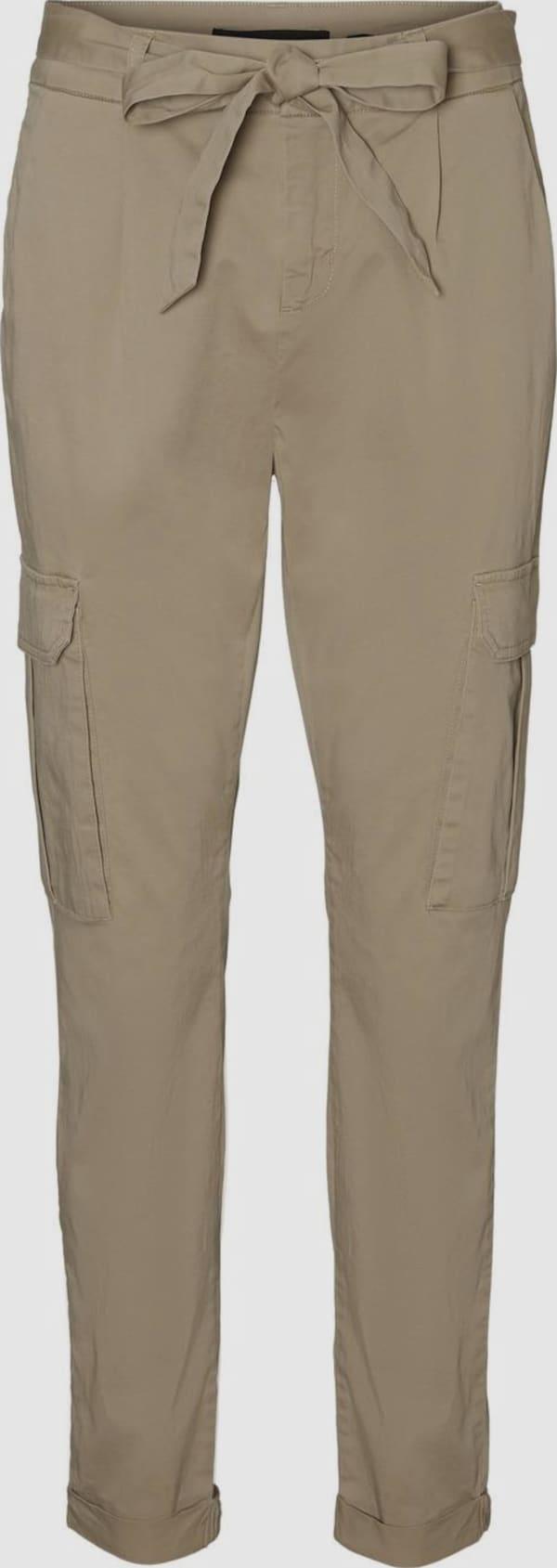 Vero Moda Tall Eva High Rise Cargo-Hose mit Paperbag-Taille und Taillengürtel