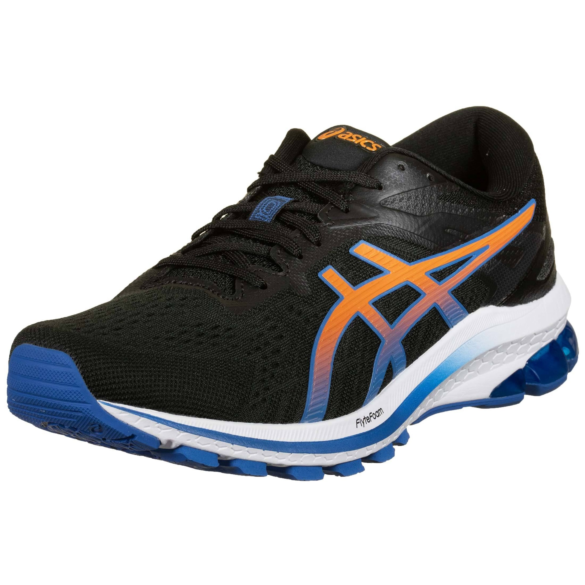 ASICS Bėgimo batai juoda / oranžinė