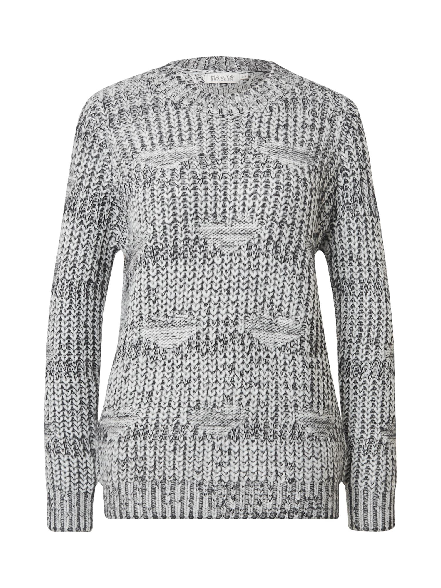 Molly BRACKEN Megztinis margai pilka