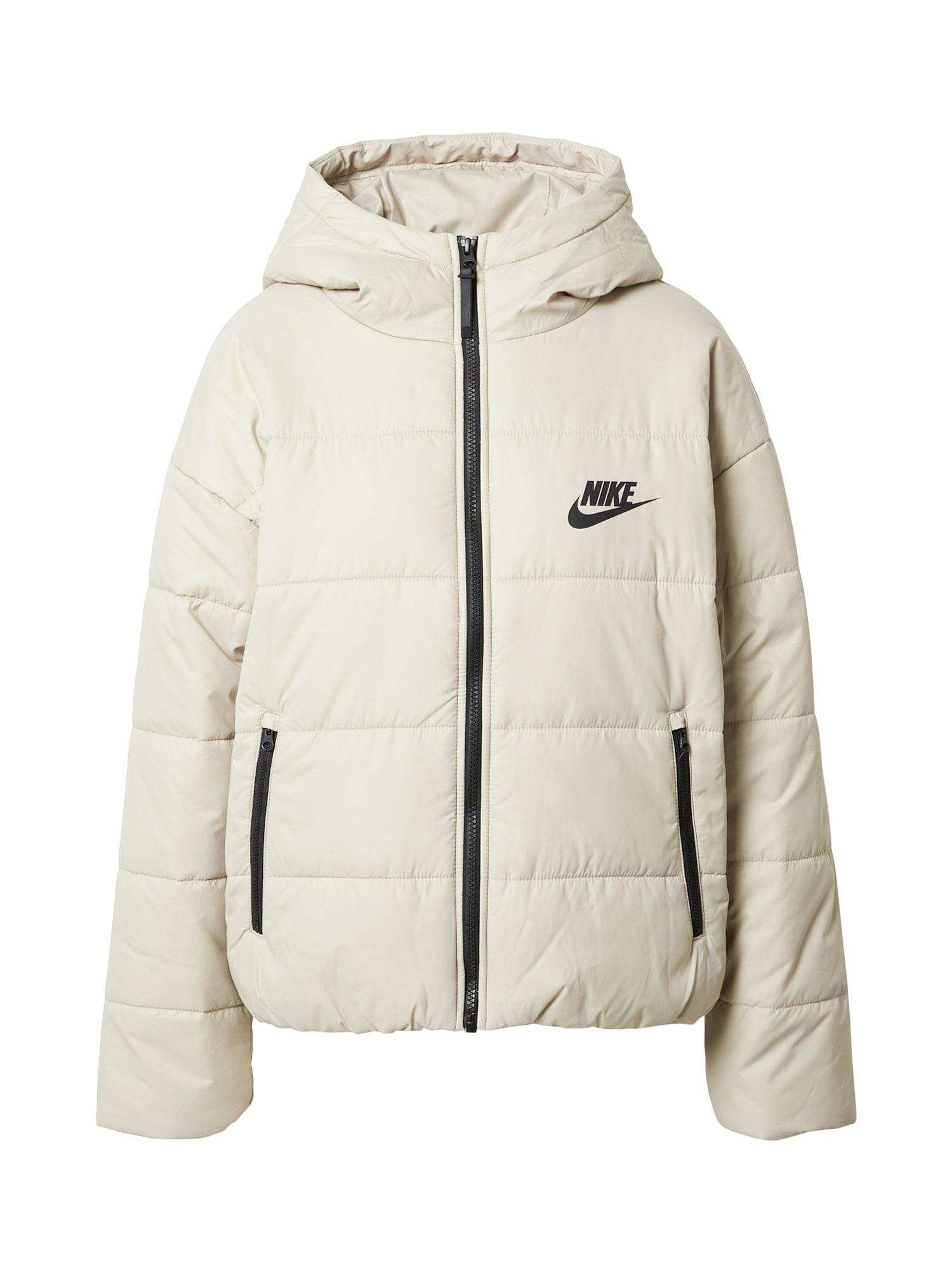 Nike Sportswear Žieminė striukė šviesiai pilka