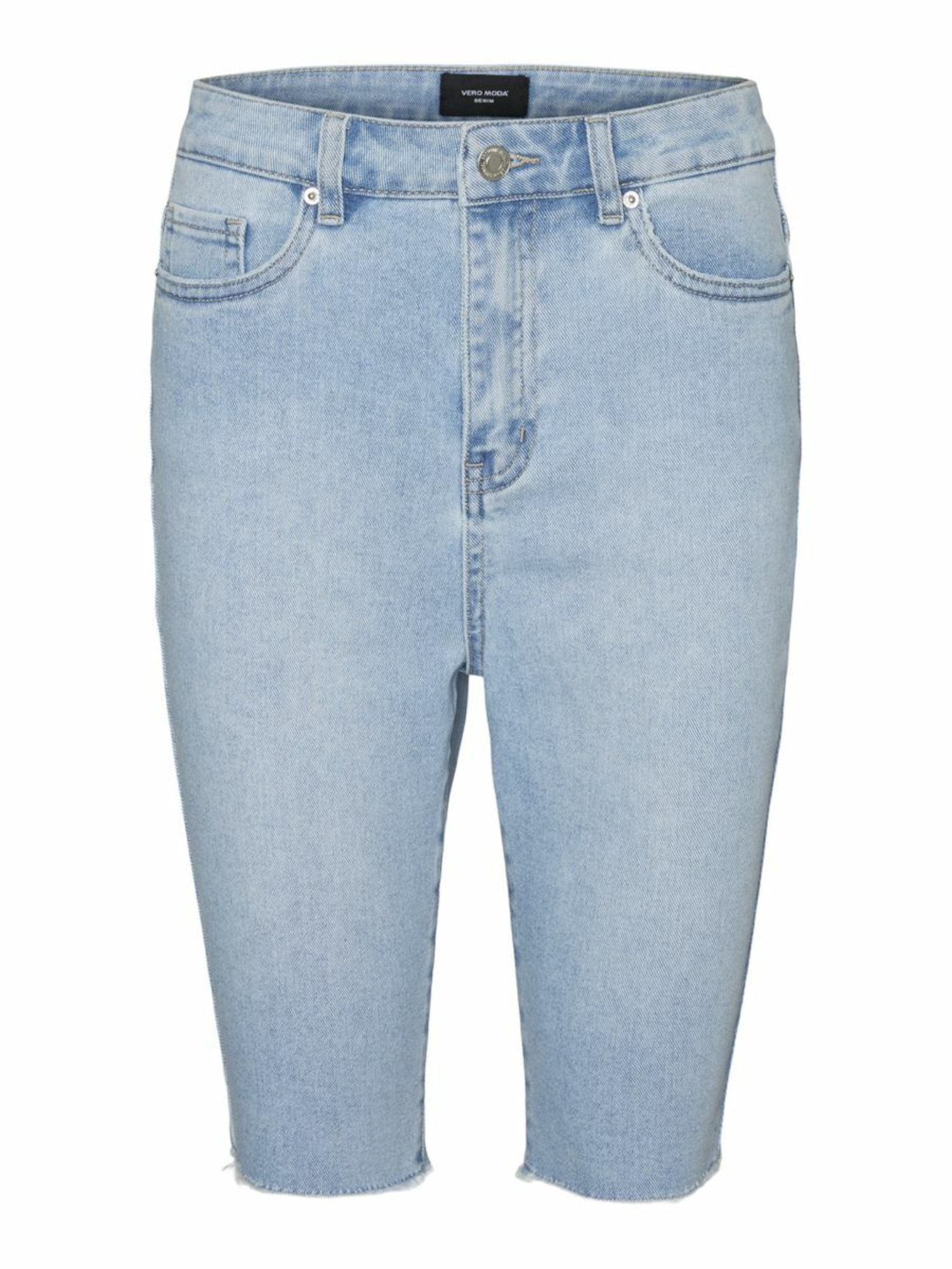 Vero Moda Curve Kelnės tamsiai (džinso) mėlyna