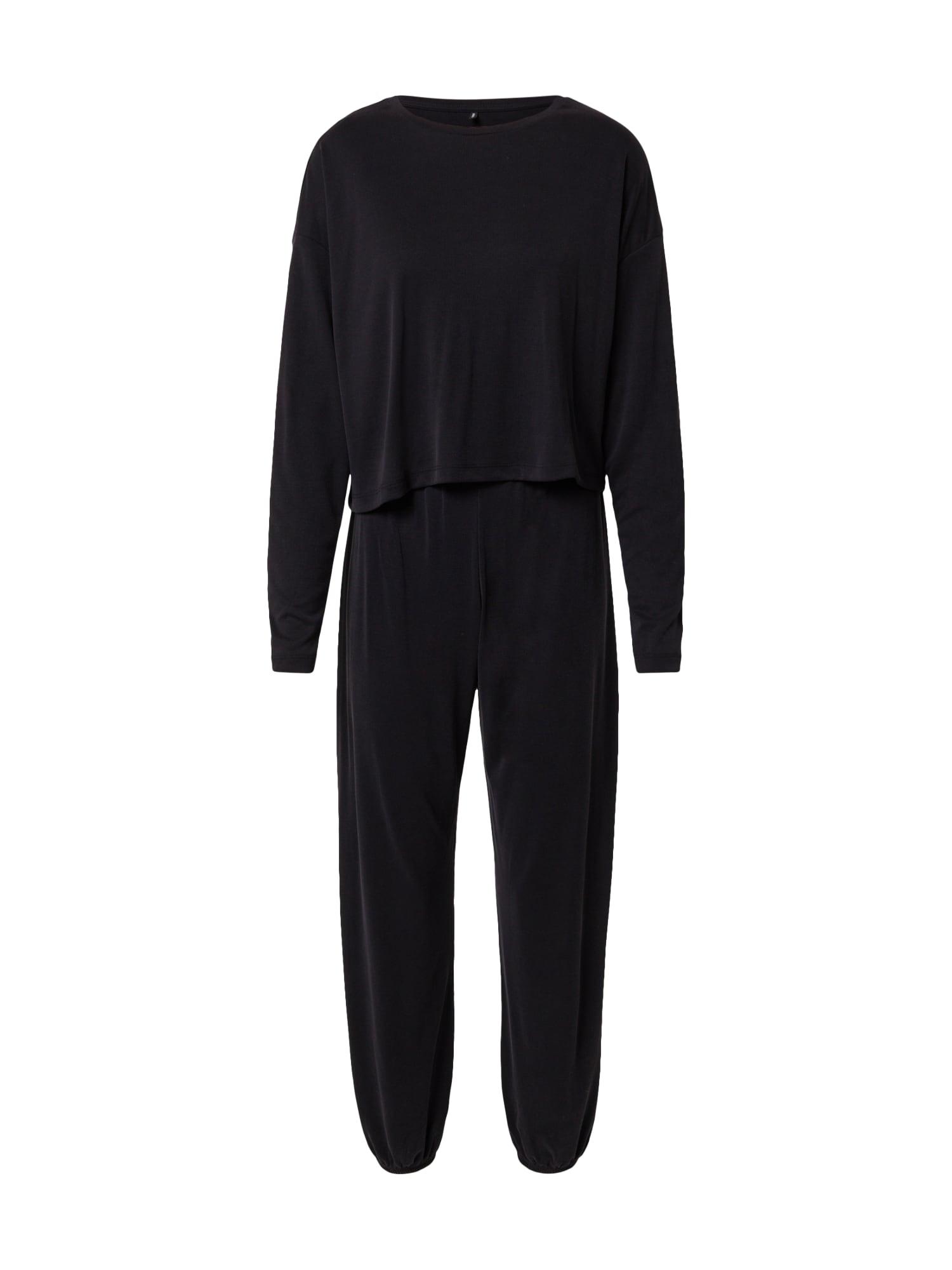 ONLY Pyžamo 'BIANCA'  černá