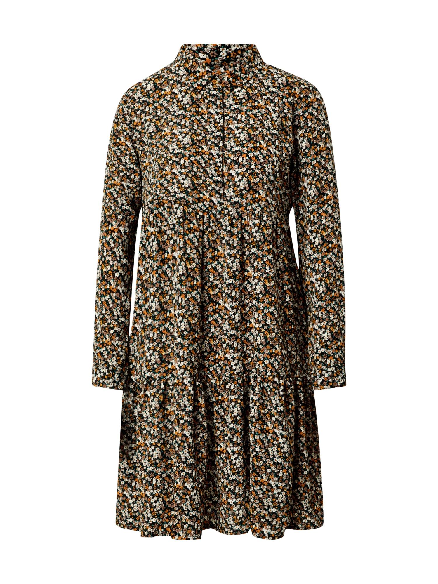 JACQUELINE de YONG Palaidinės tipo suknelė oranžinė / mišrios spalvos