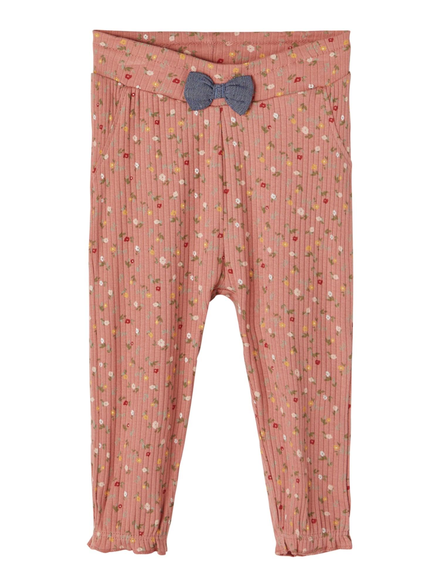 NAME IT Kelnės 'Janice' ryškiai rožinė spalva / mišrios spalvos