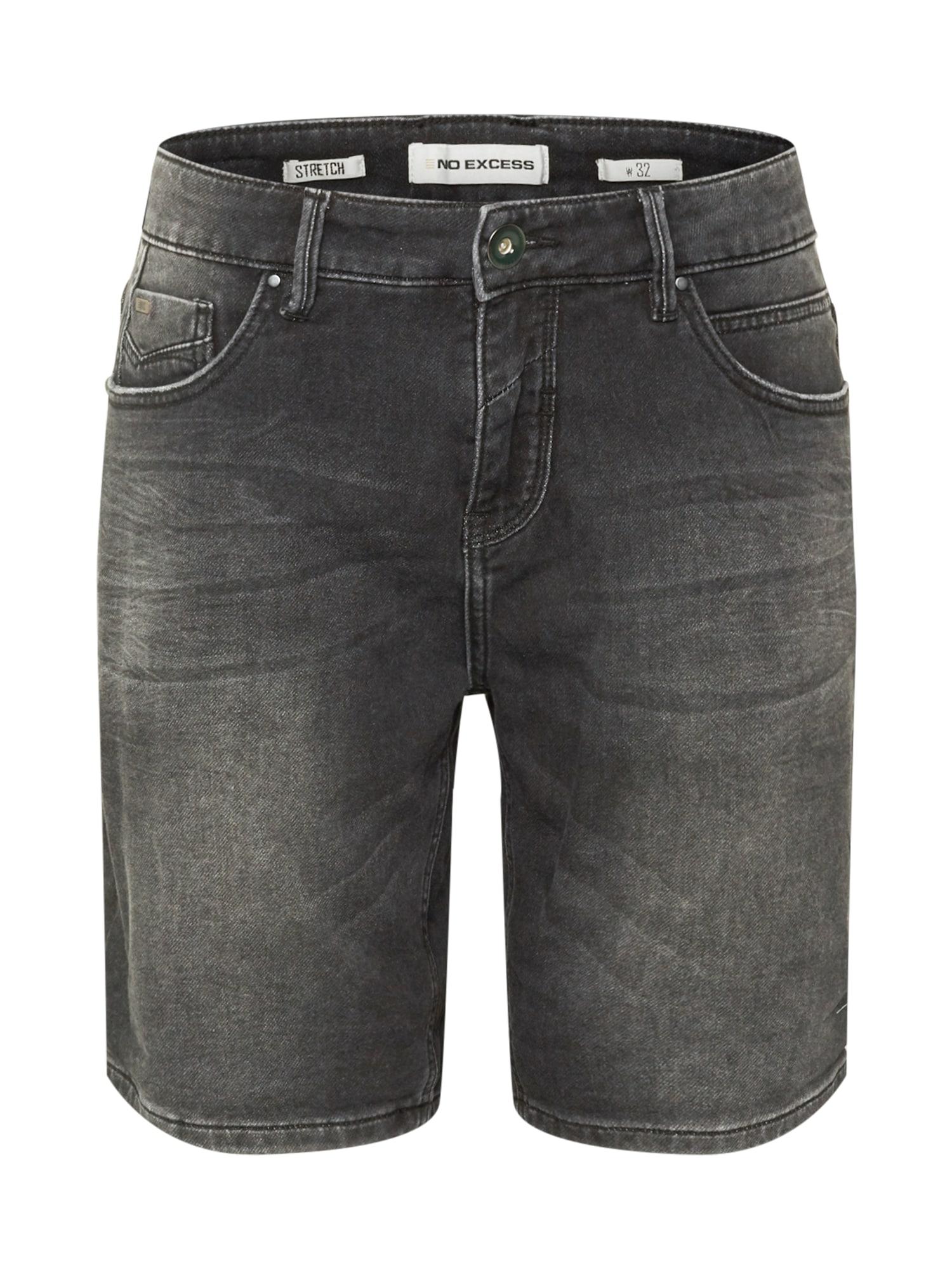 No Excess Džinsai juodo džinso spalva