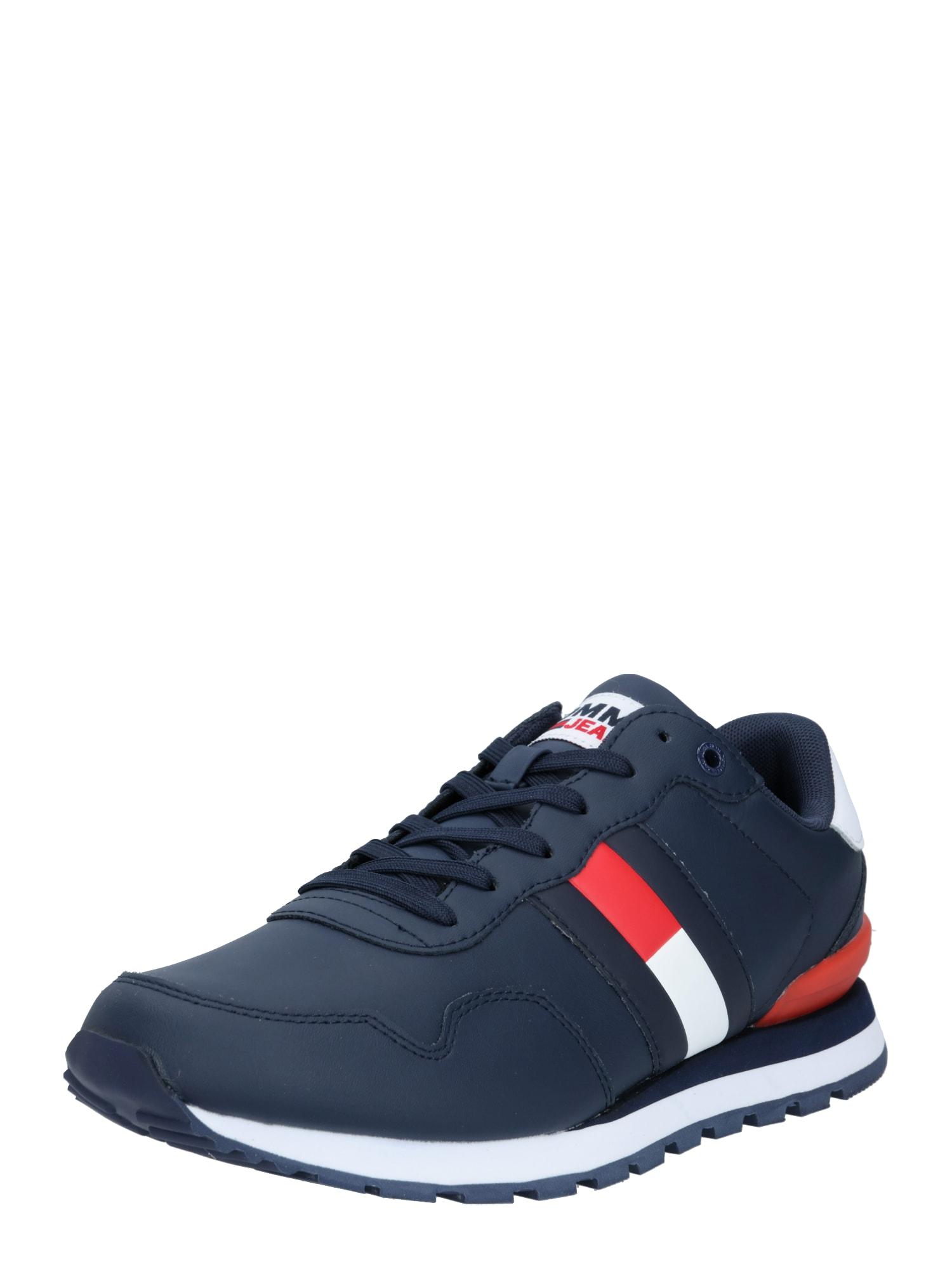 Tommy Jeans Tenisky 'Lea'  námořnická modř / bílá / červená