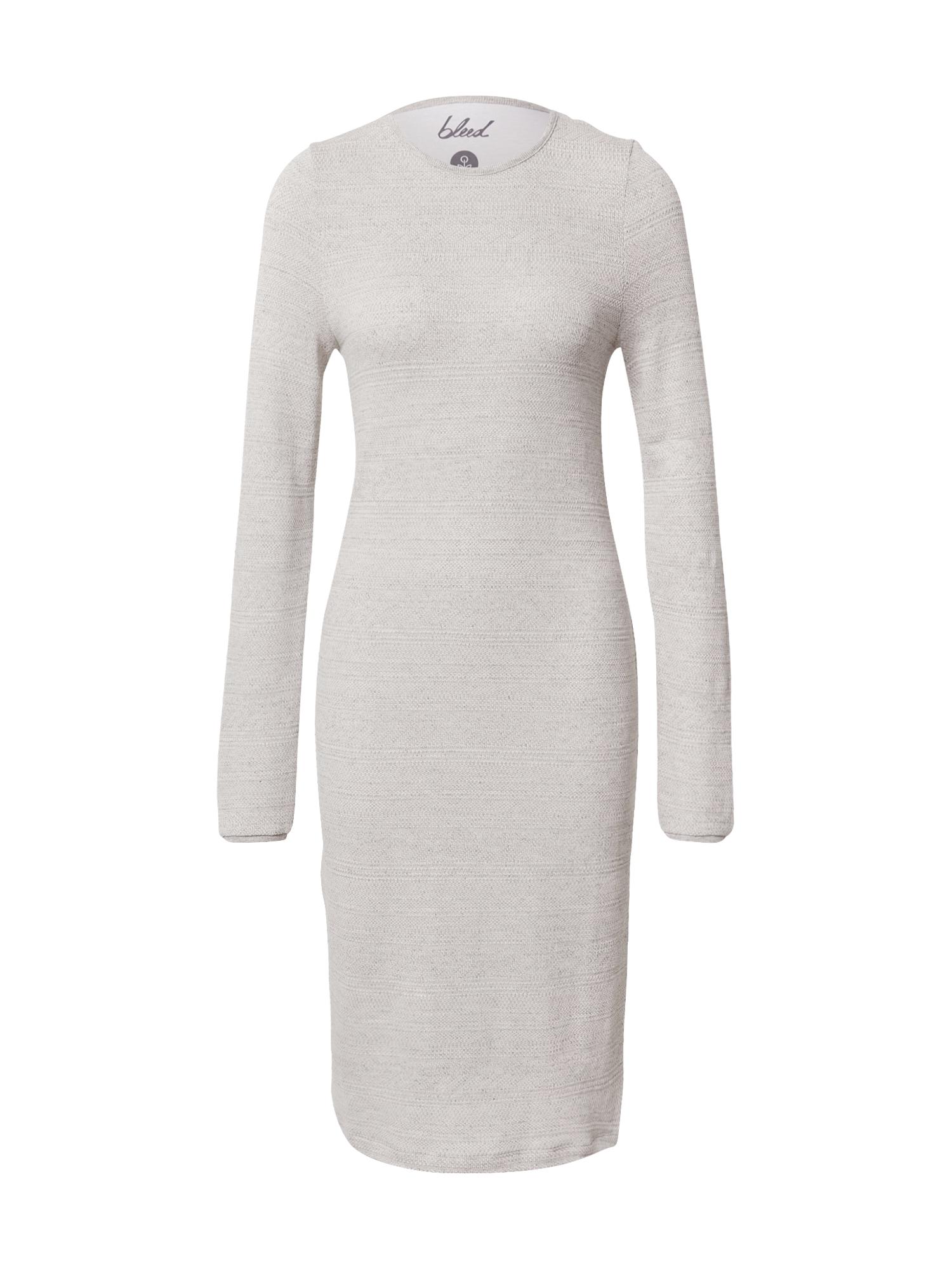 bleed clothing Úpletové šaty  offwhite