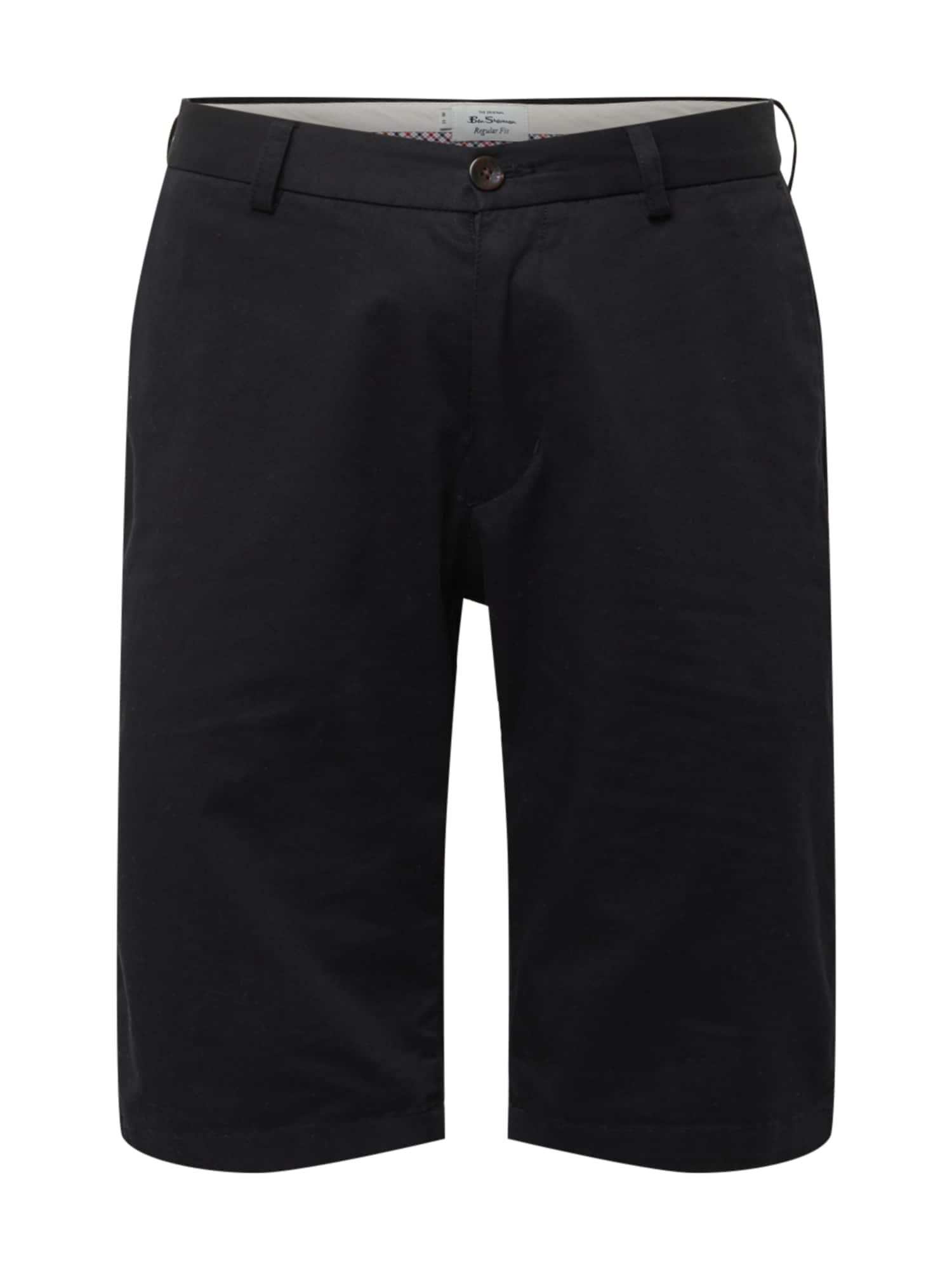 Ben Sherman Chino kalhoty  černá