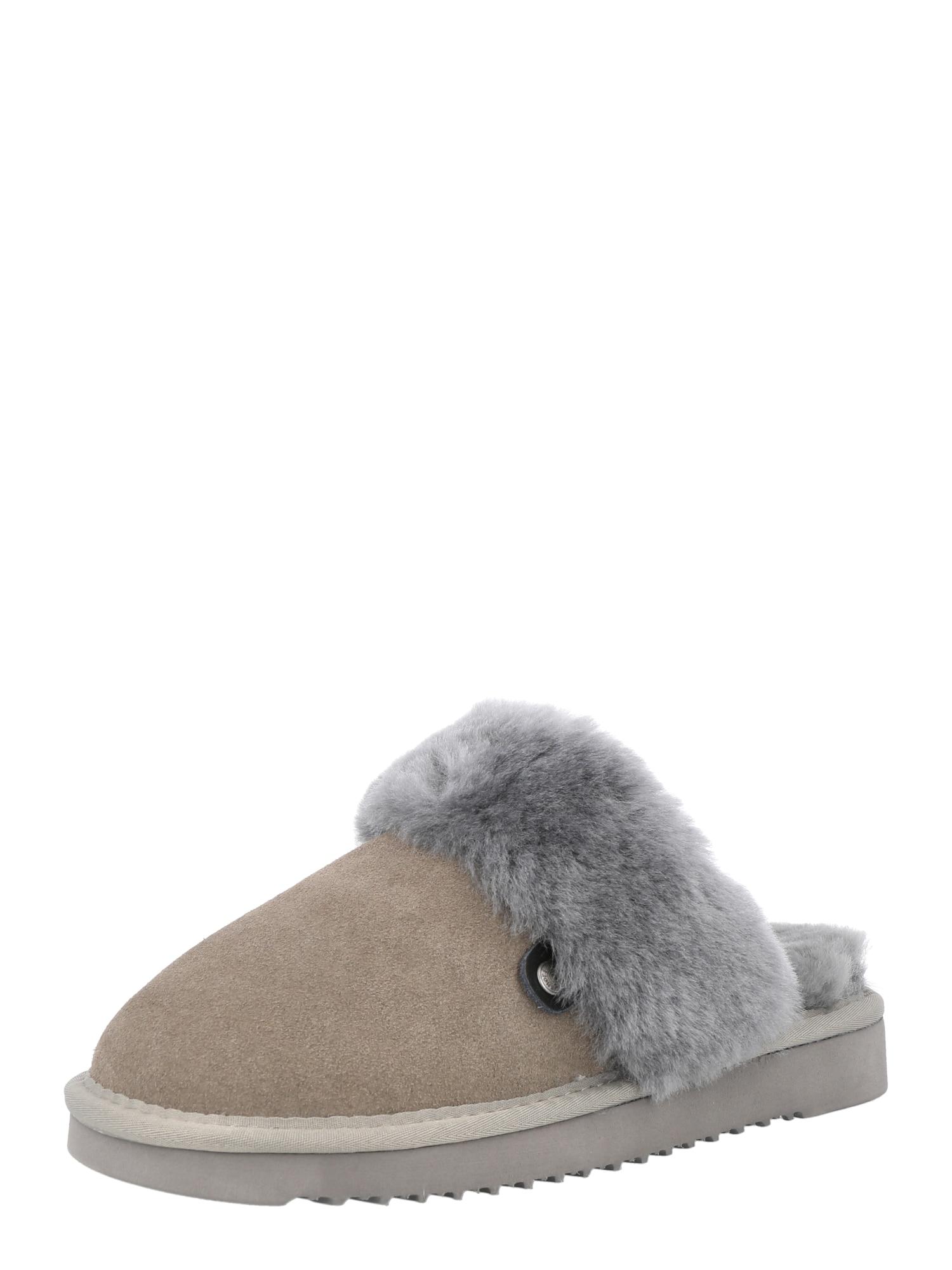 MUSTANG Papuče  sivá / kamenná