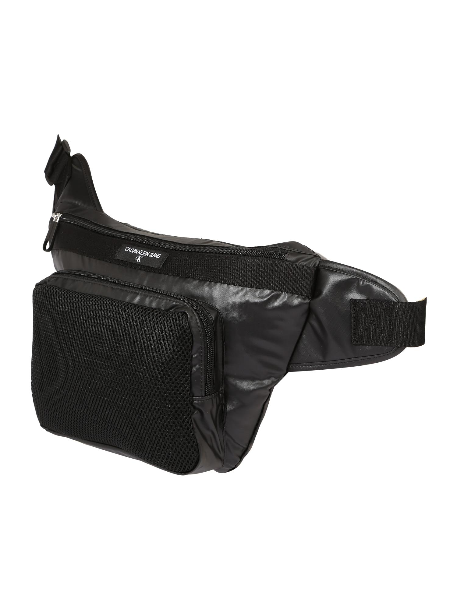 Calvin Klein Jeans Rankinė ant juosmens juoda