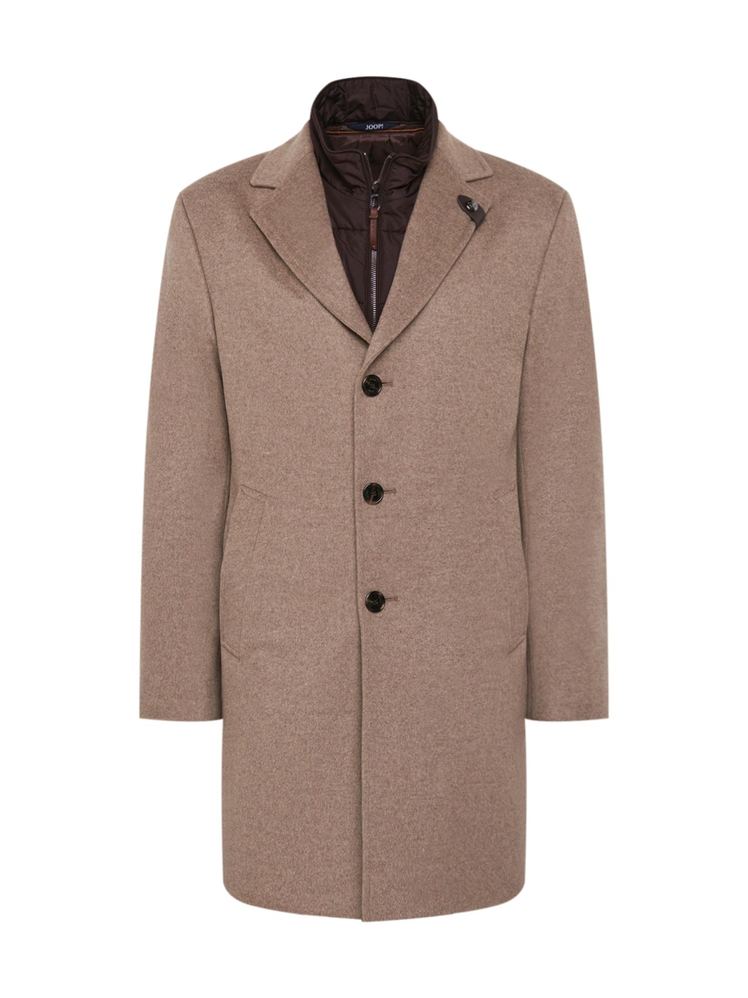 JOOP! Přechodný kabát 'Morris'  světle hnědá / čokoládová
