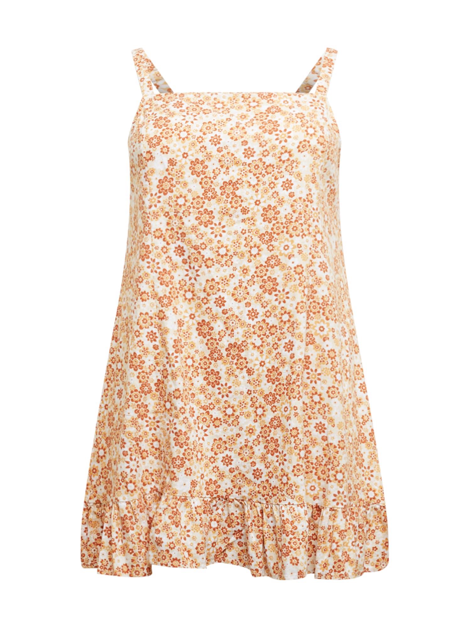 Cotton On Curve Suknelė bronzinė / ruda