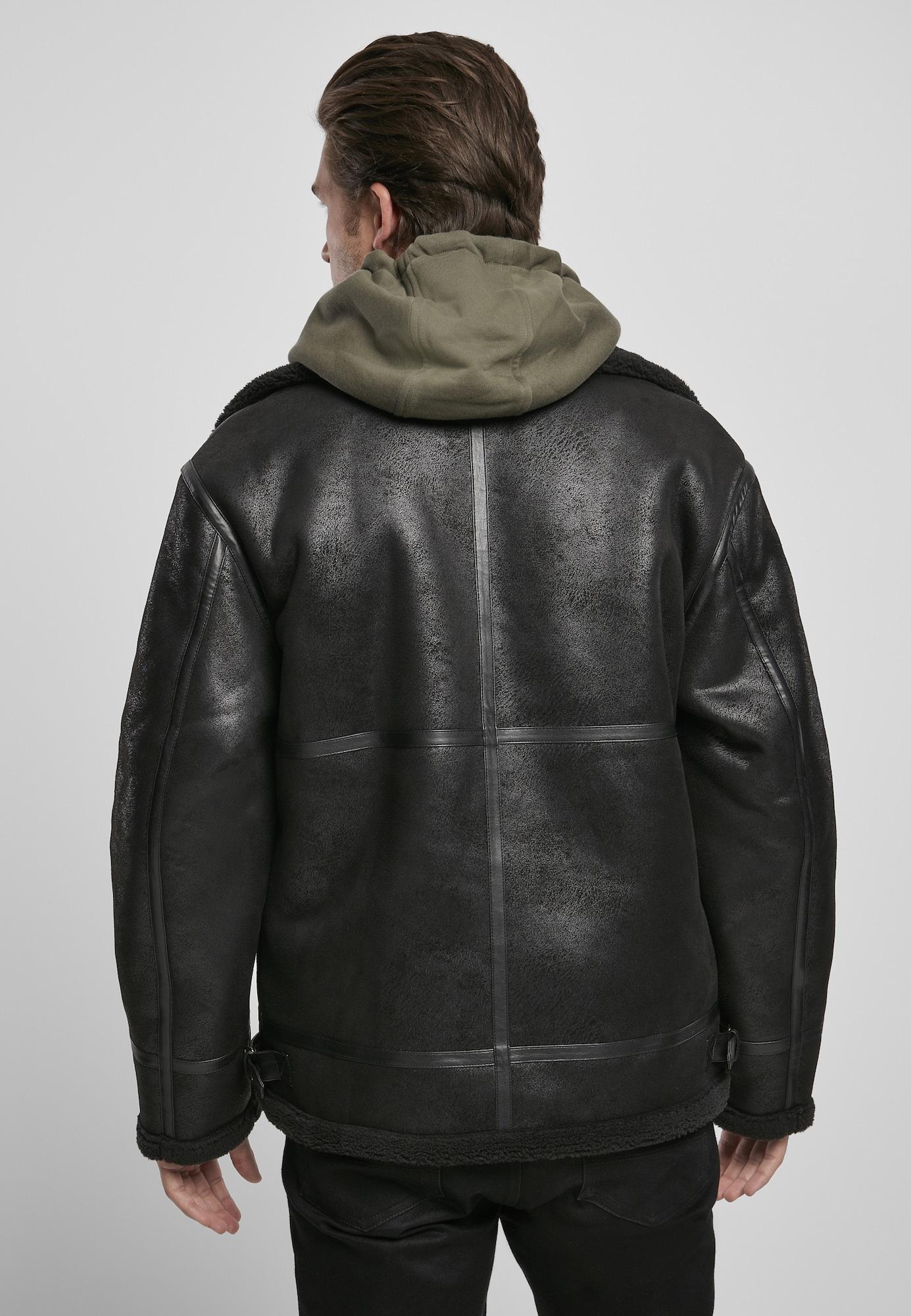 Urban Classics Prechodná bunda  čierna.