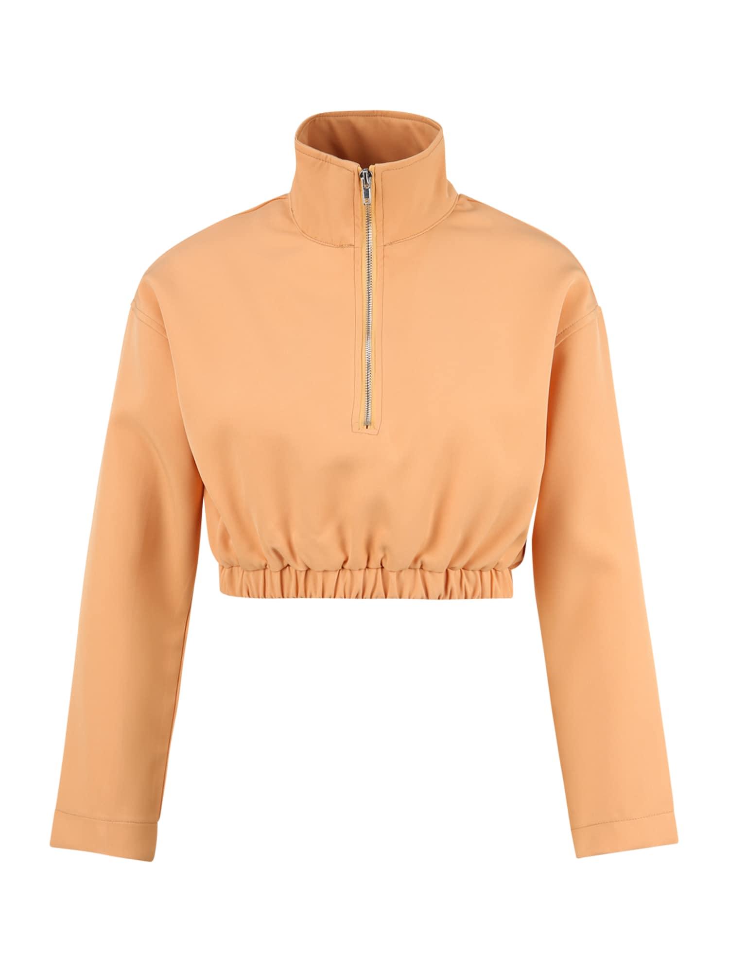 Missguided Petite Megztinis be užsegimo oranžinė