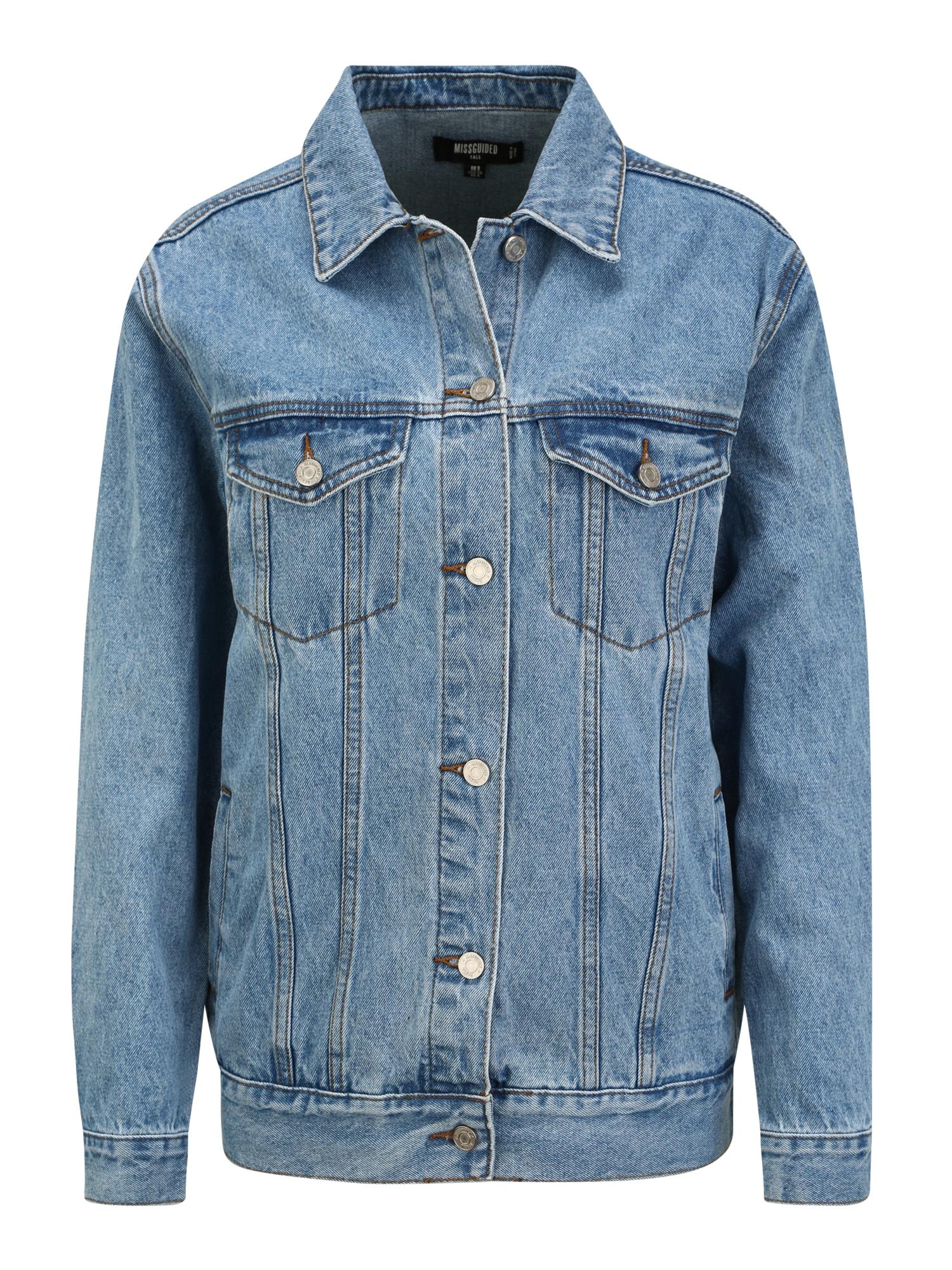Missguided (Tall) Demisezoninė striukė tamsiai (džinso) mėlyna