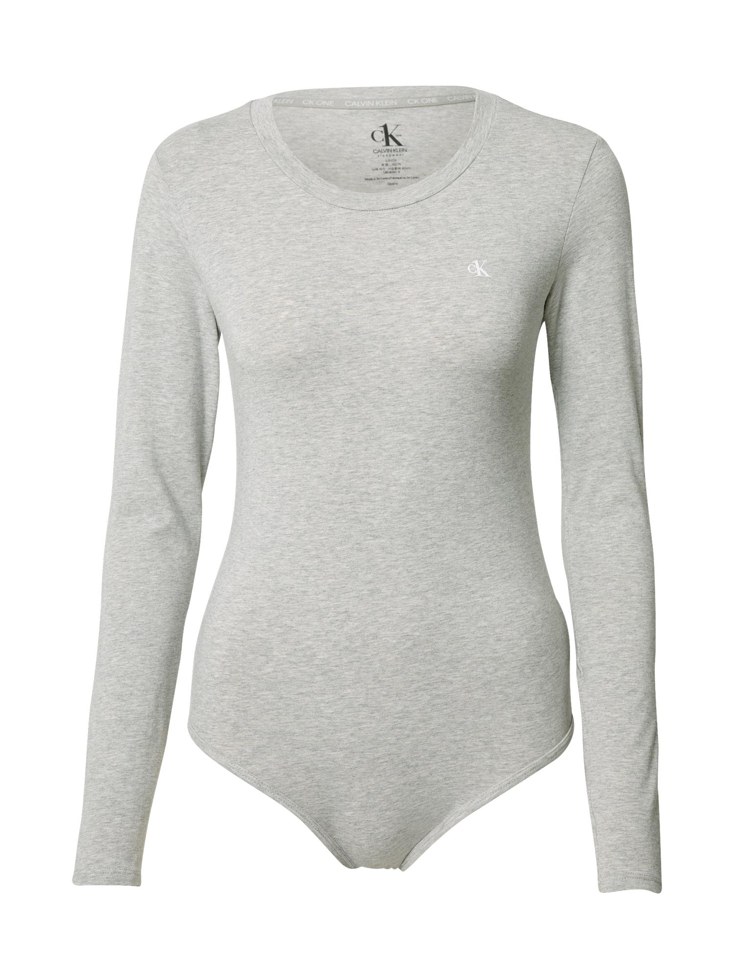 Calvin Klein Underwear Marškinėliai-glaustinukė pilka