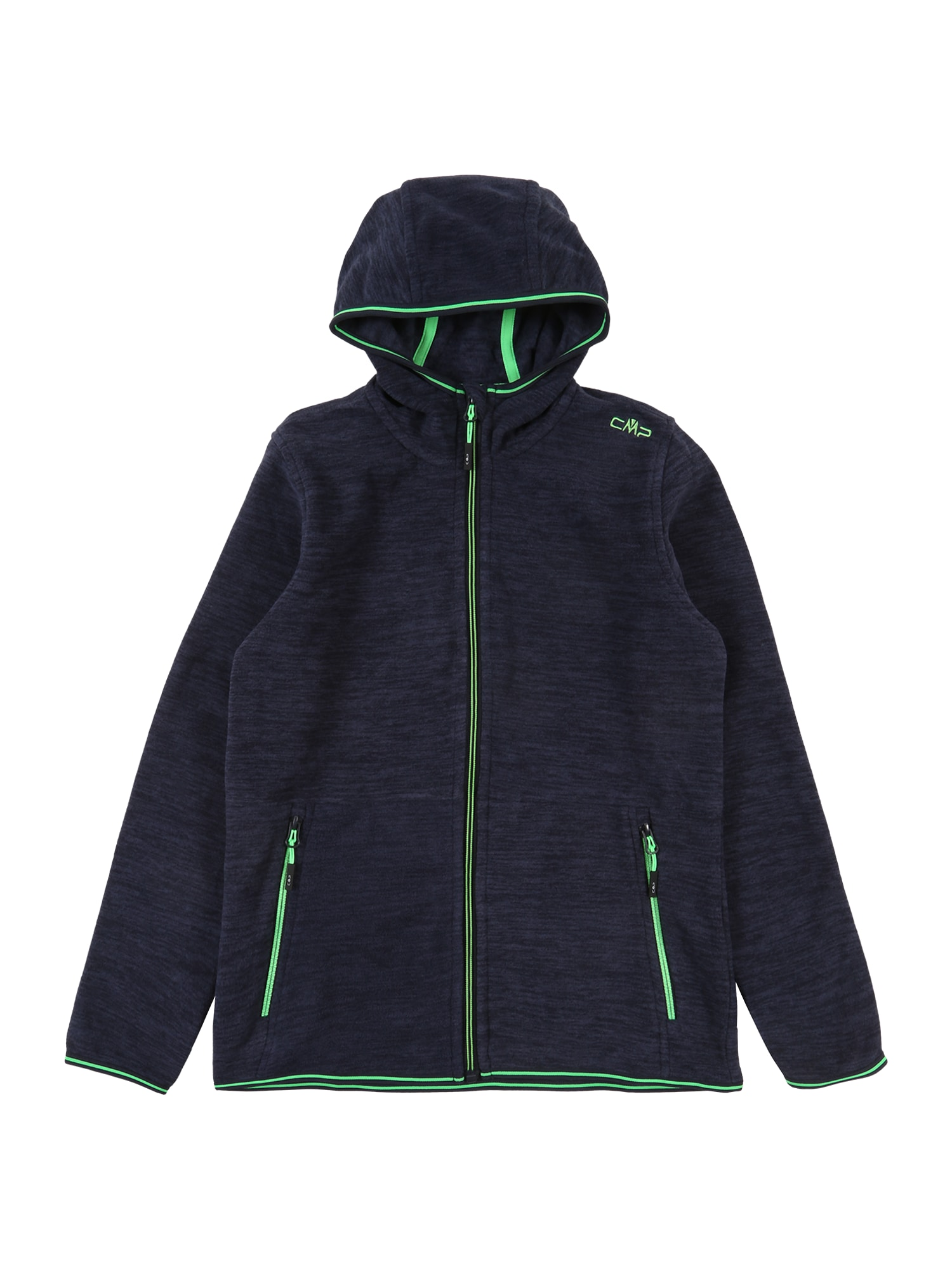 CMP Sportinė striukė mėlyna / neoninė žalia
