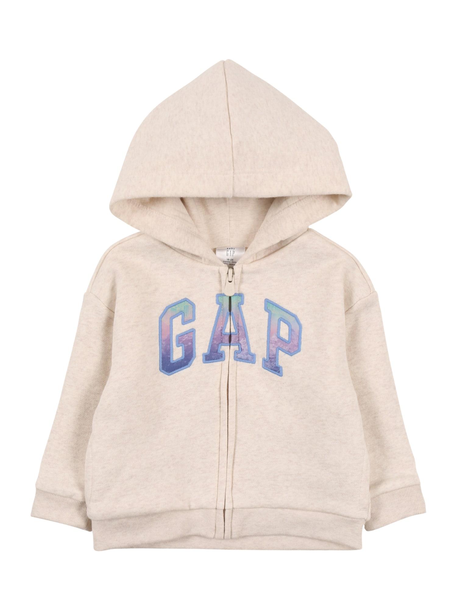 GAP Džemperis mėlyna dūmų spalva / tamsiai violetinė / šviesiai žalia / mišrios spalvos / glaisto spalva