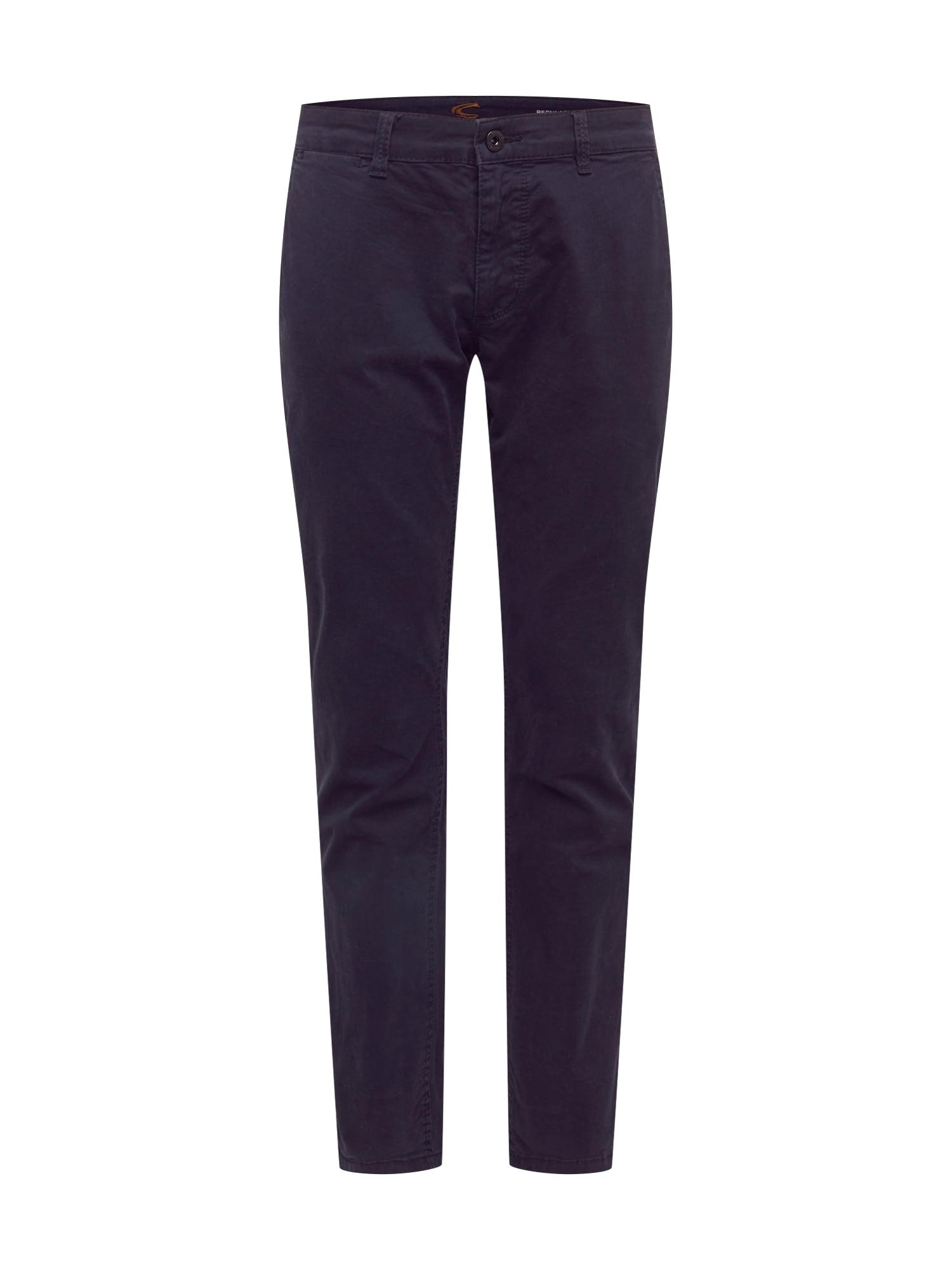 CAMEL ACTIVE Chino kalhoty  námořnická modř