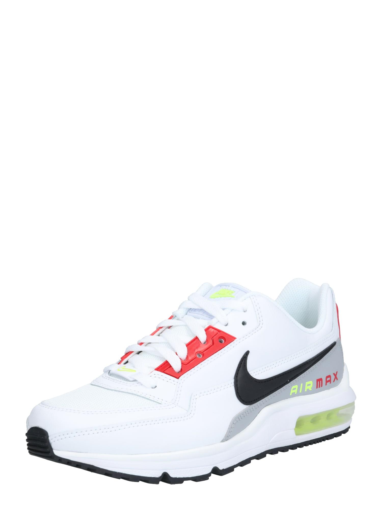 Nike Sportswear Tenisky 'Air Max'  bílá / černá / šedá / červená