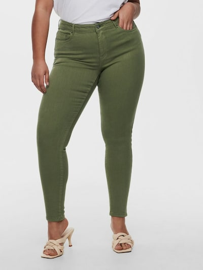 Only Carmakoma Jenny Push-up-Jeans mit normaler Passform