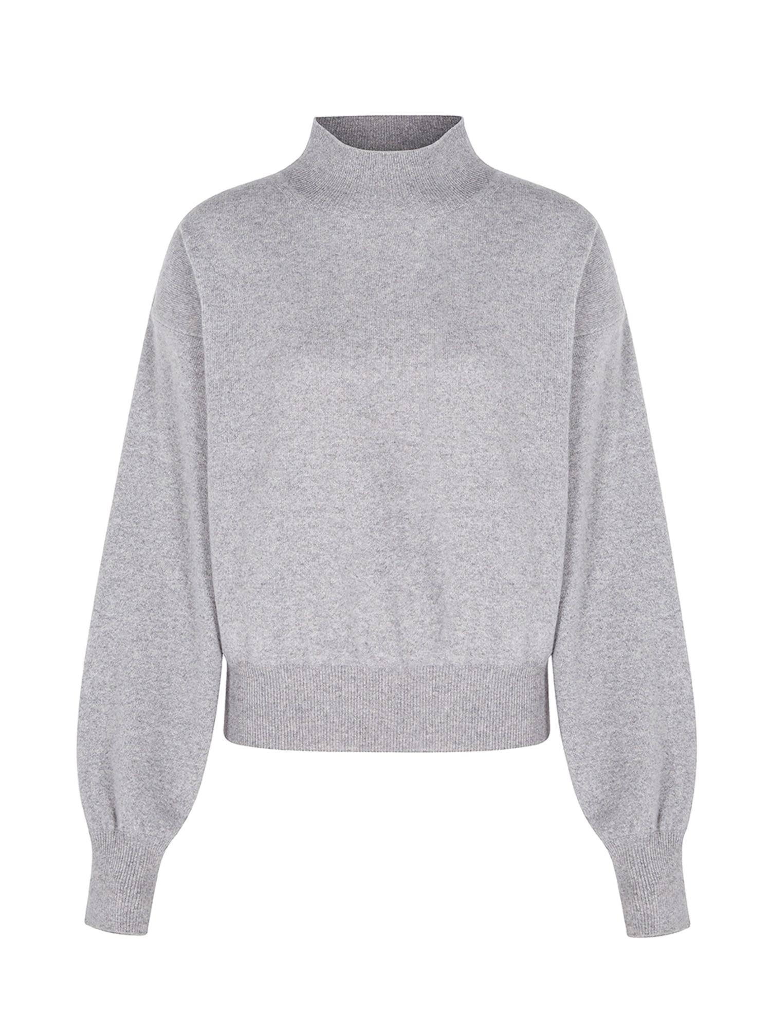 Aligne Megztinis 'Athena' margai pilka