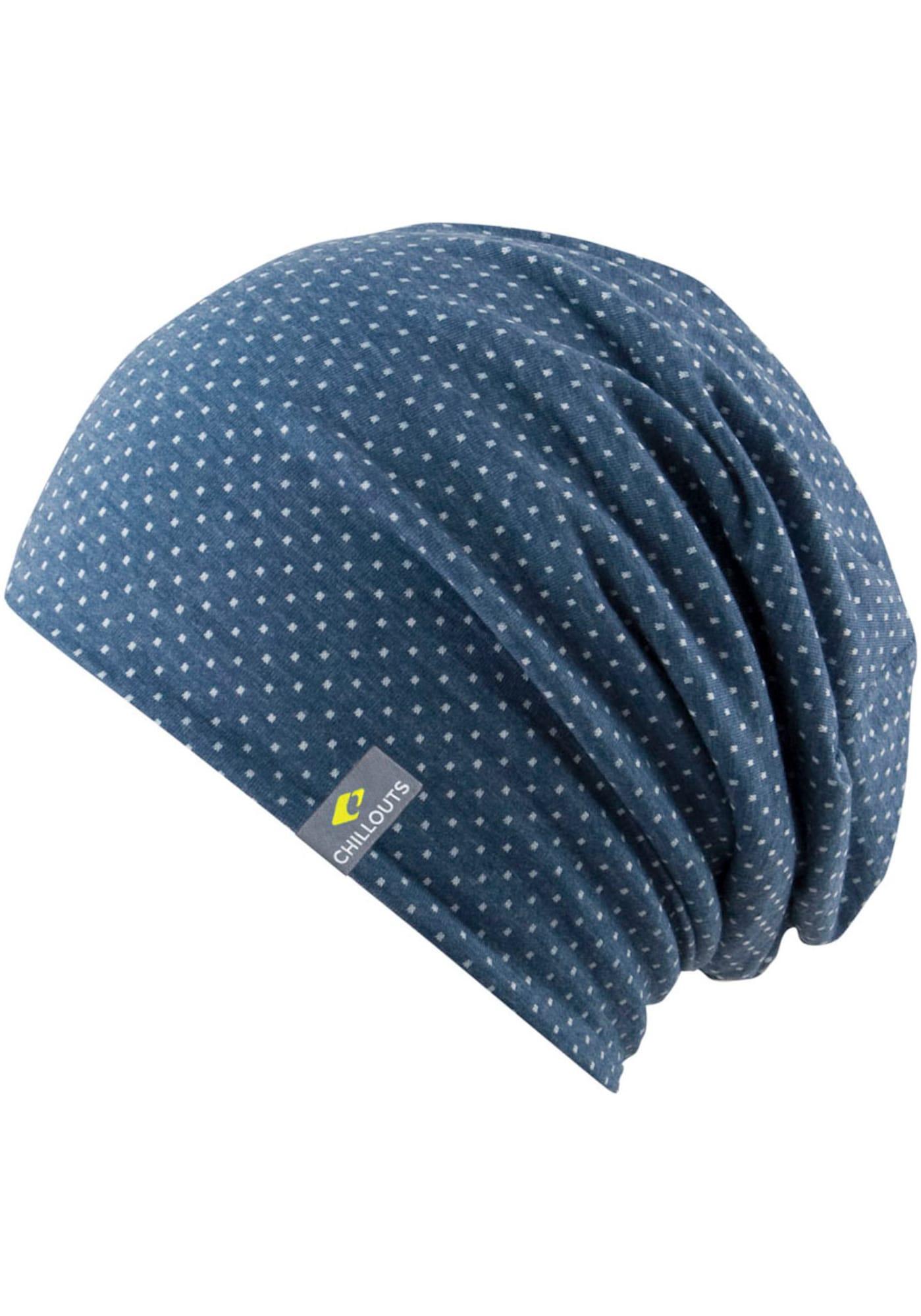 chillouts Megzta kepurė mėlyna / balta