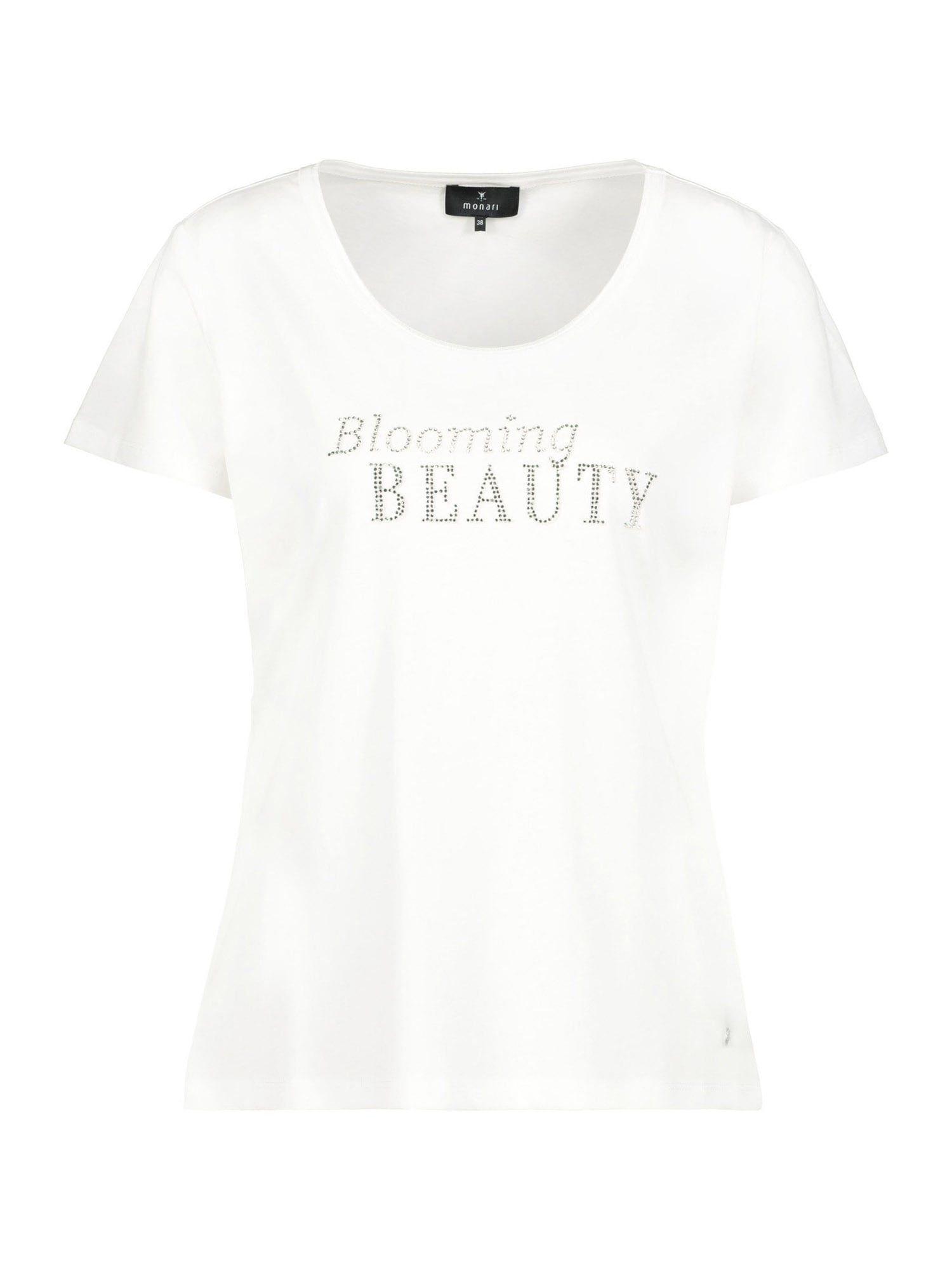 monari Marškinėliai balta