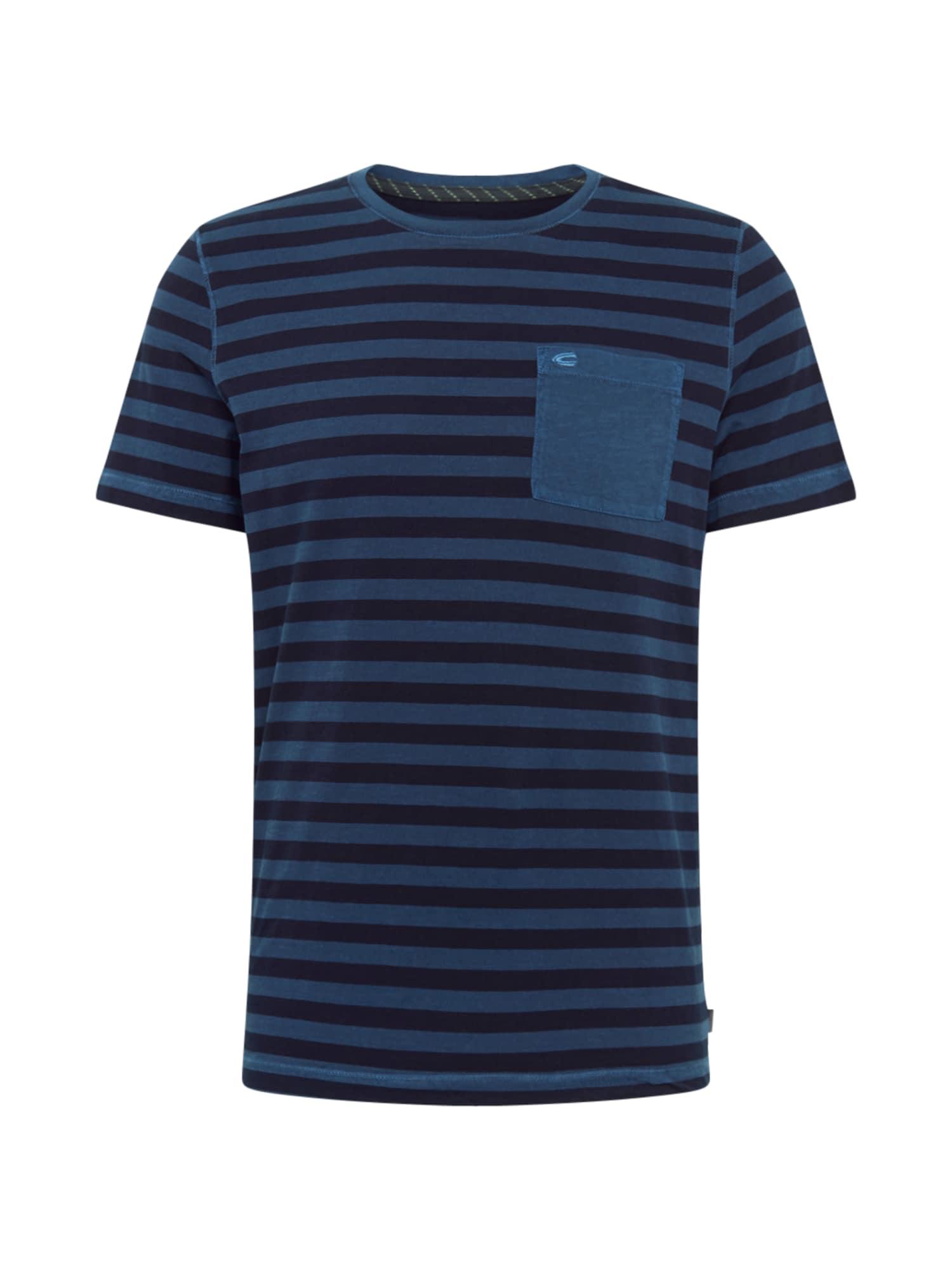 CAMEL ACTIVE Marškinėliai mėlyna / dangaus žydra