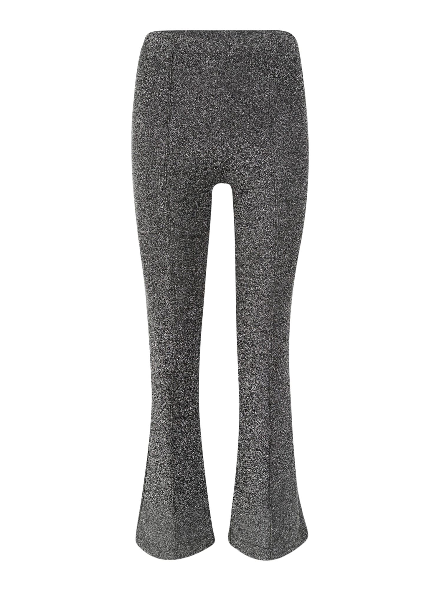 Pieces (Petite) Kalhoty  šedá