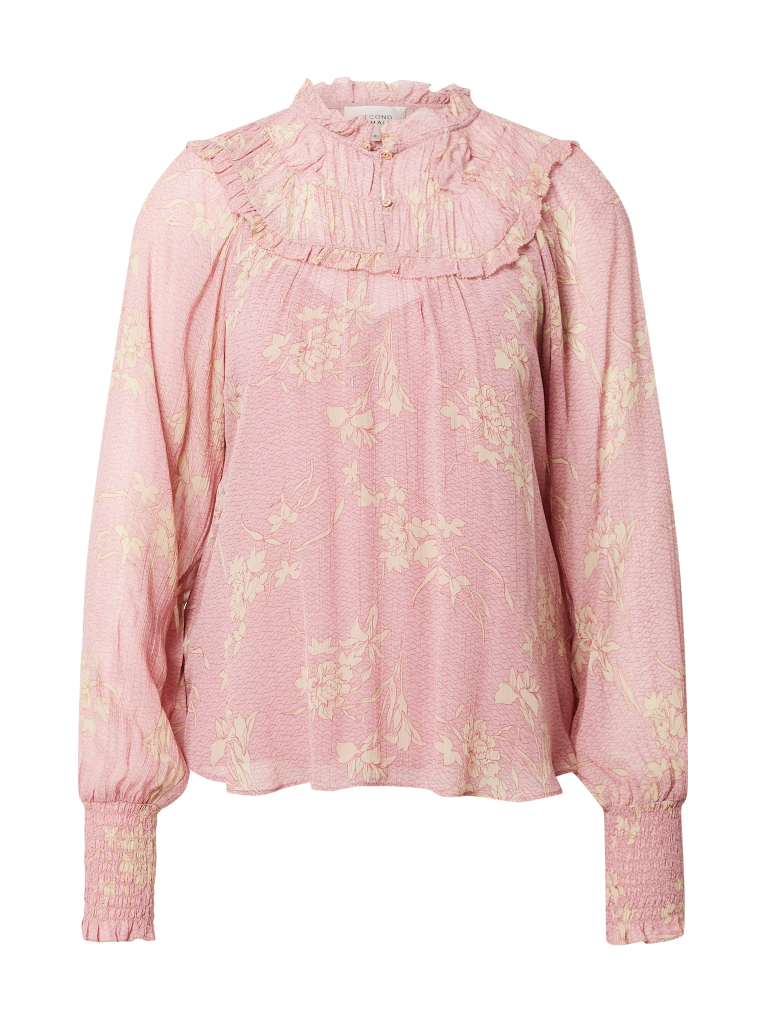 SECOND FEMALE Palaidinė rožinė / tamsiai rožinė / pastelinė geltona
