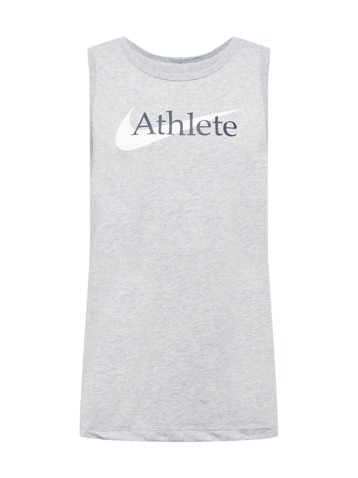 NIKE Funkční tričko  šedá