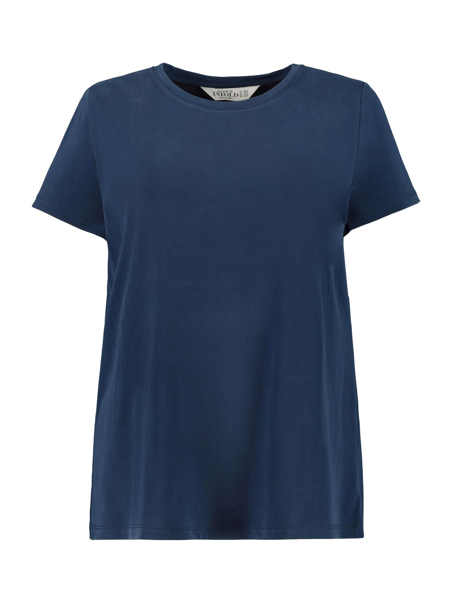 Studio Untold Marškinėliai tamsiai mėlyna