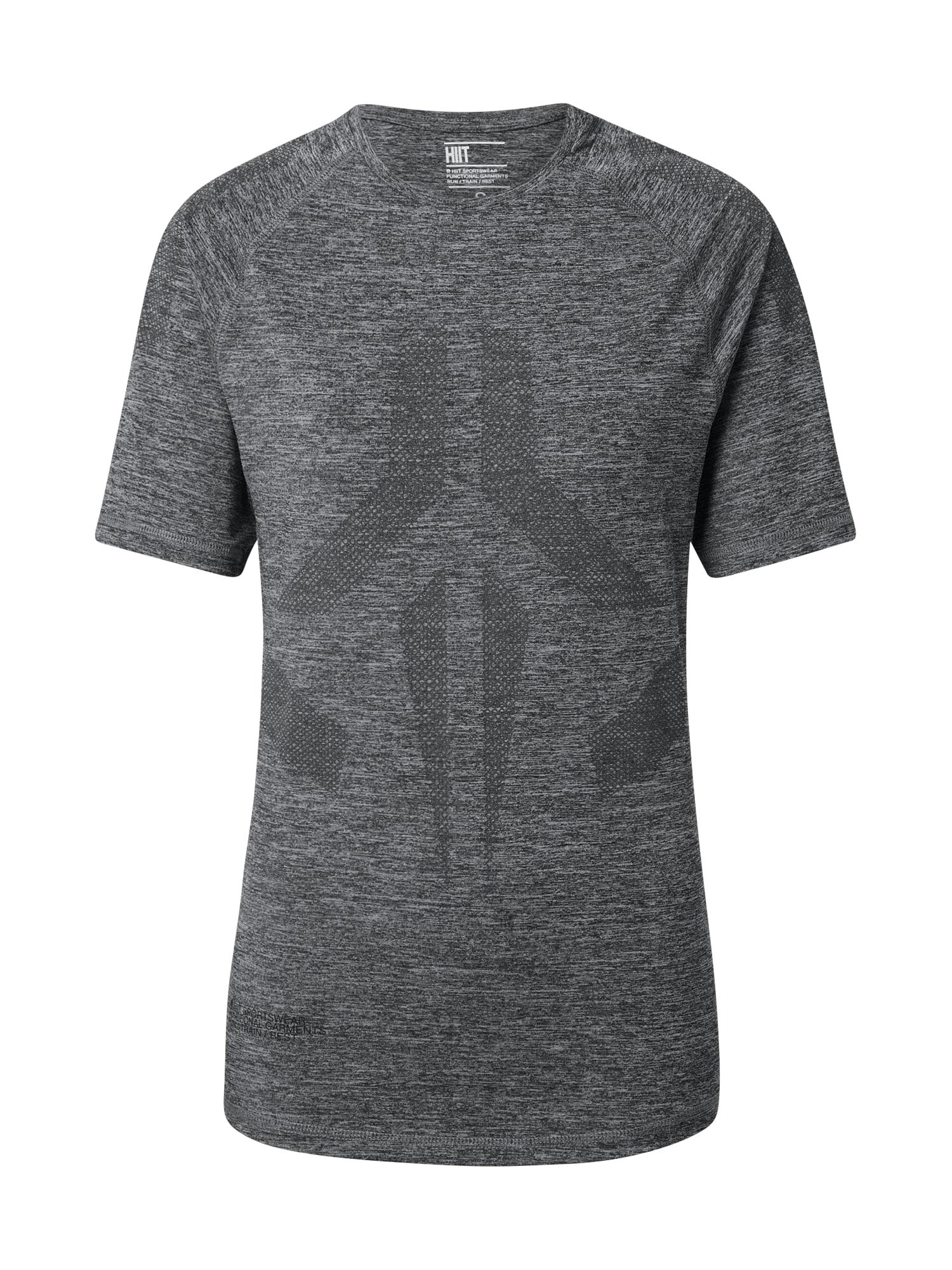 HIIT Sportiniai marškinėliai pilka